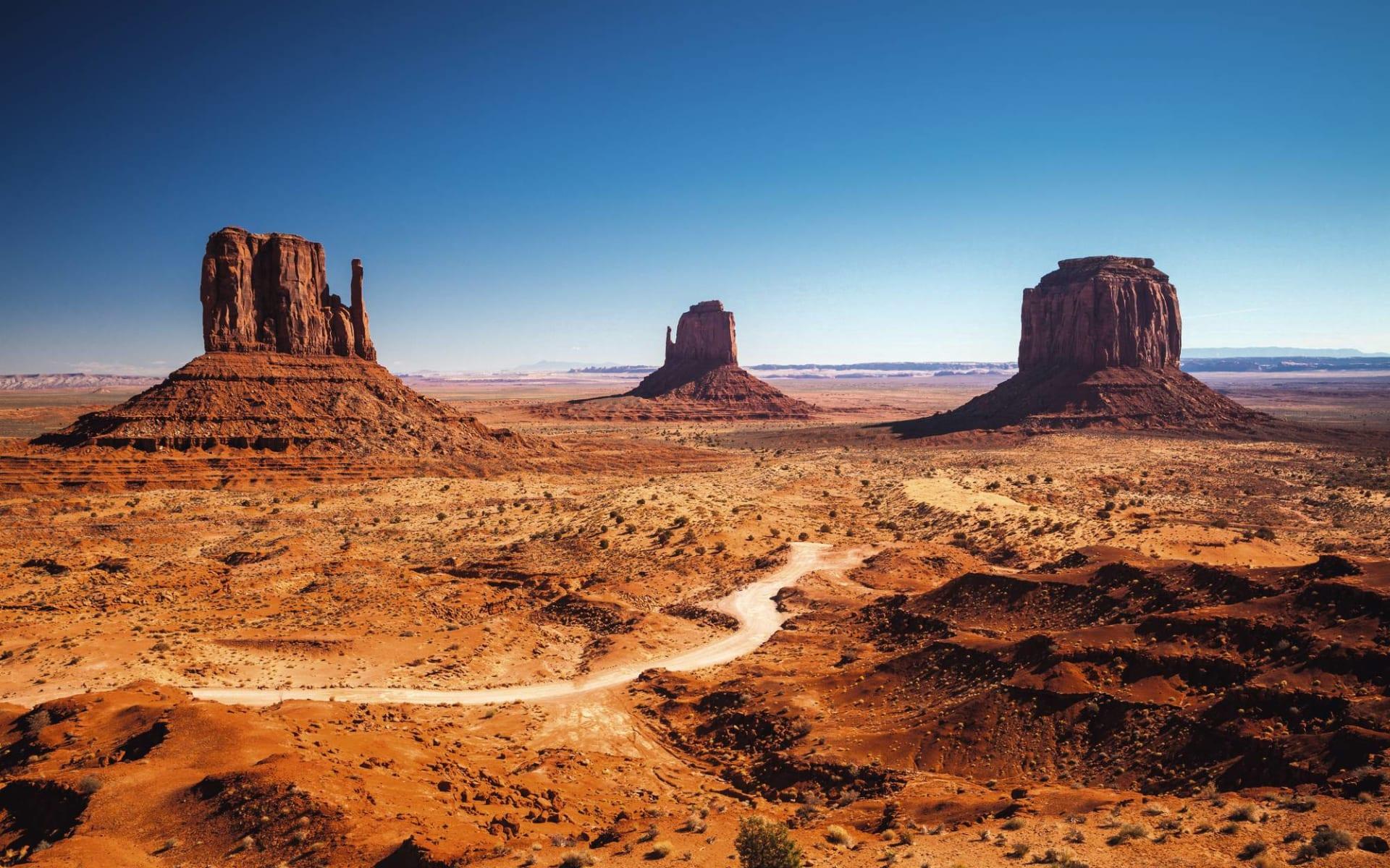 Amerikas Wilder Westen ab Las Vegas: USA - Arizona - Monument Valley