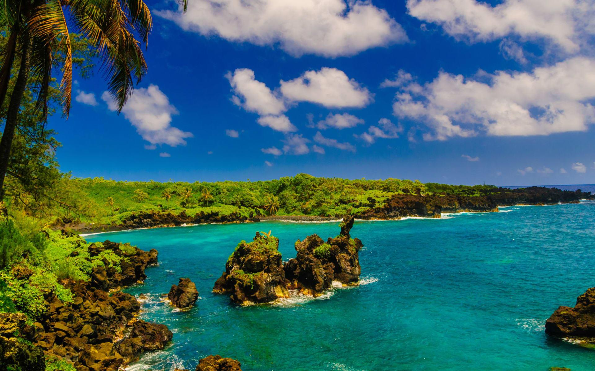 Hawaii - Trails im Südpazifik ab Kona: USA_Hawaii_Maui_Road to Hana