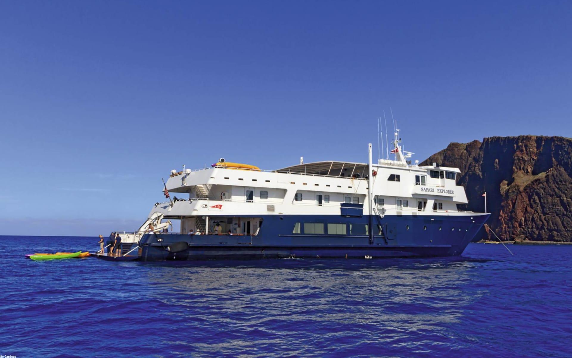 Yacht-Kreuzfahrten mit Un-Cruise Adventures ab Kaunakakai: USA - Hawaii - Safari Explorer