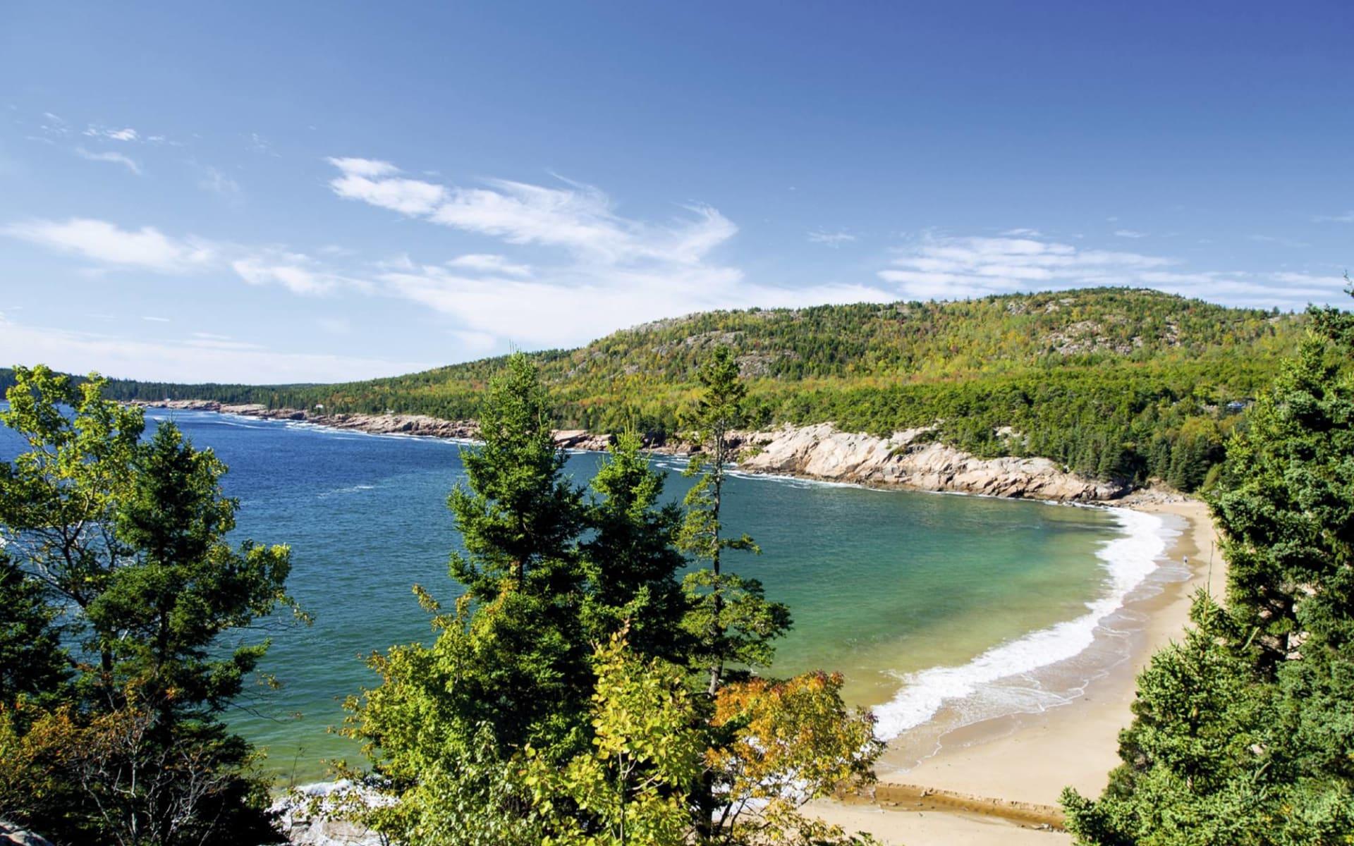 Charming New England ab Boston: USA - Maine - Sand Beach, Acadia Nationalpark