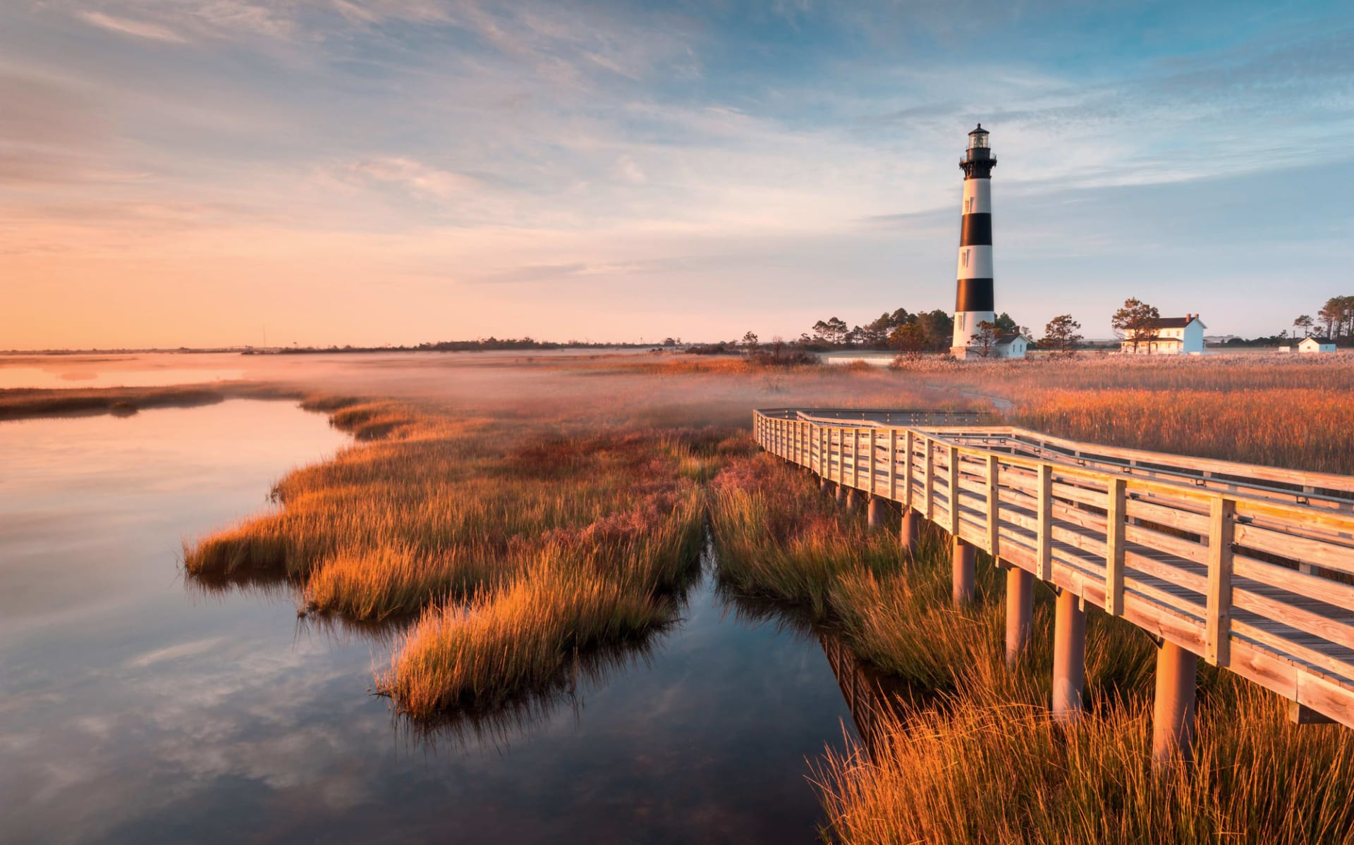Koloniales Amerika ab Atlanta: USA - North Carolina - Bodie Island Lighthouse