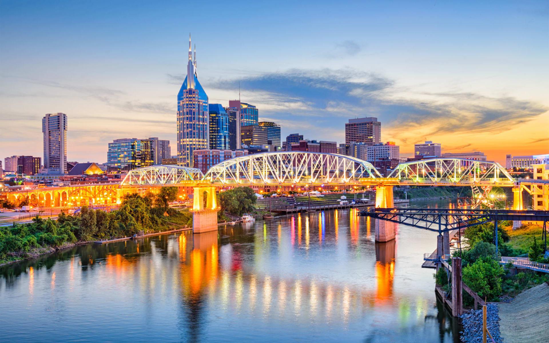 Höhepunkte der Südstaaten ab Atlanta: USA_Tennessee_Nashville