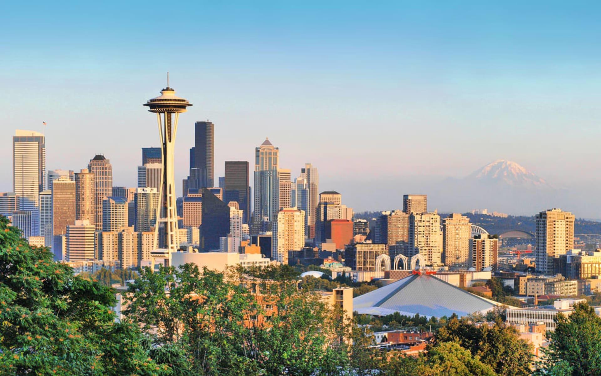 Pacific Coast Explorer ab Vancouver: Seattle