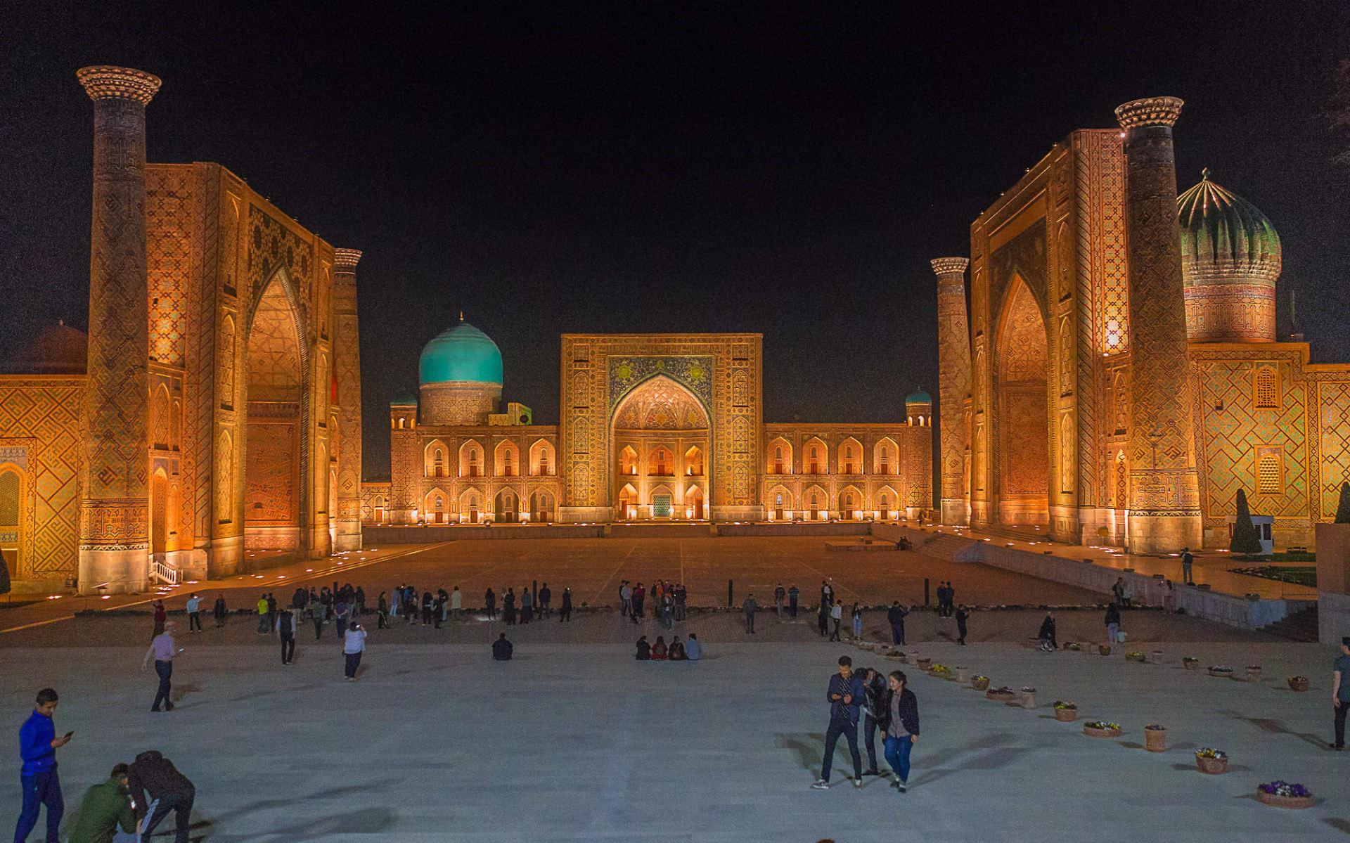 Registan - von Almaty nach Aschgabad: Usbekistan_Samarkand43