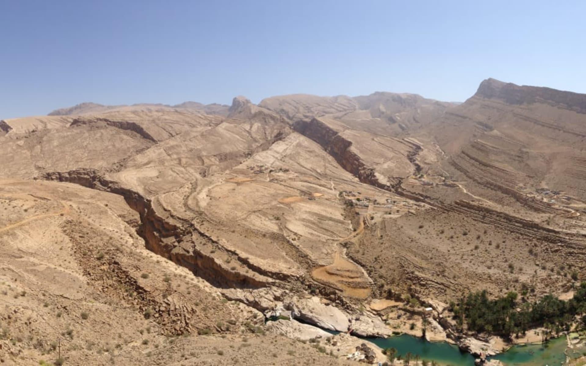 Oman zum Kennenlernen ab Muscat: Wadi Bani Khalid