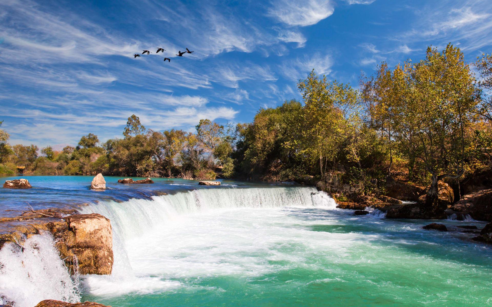 Badeferien im Barut Arum ab Antalya: Wasserfall Manavgat