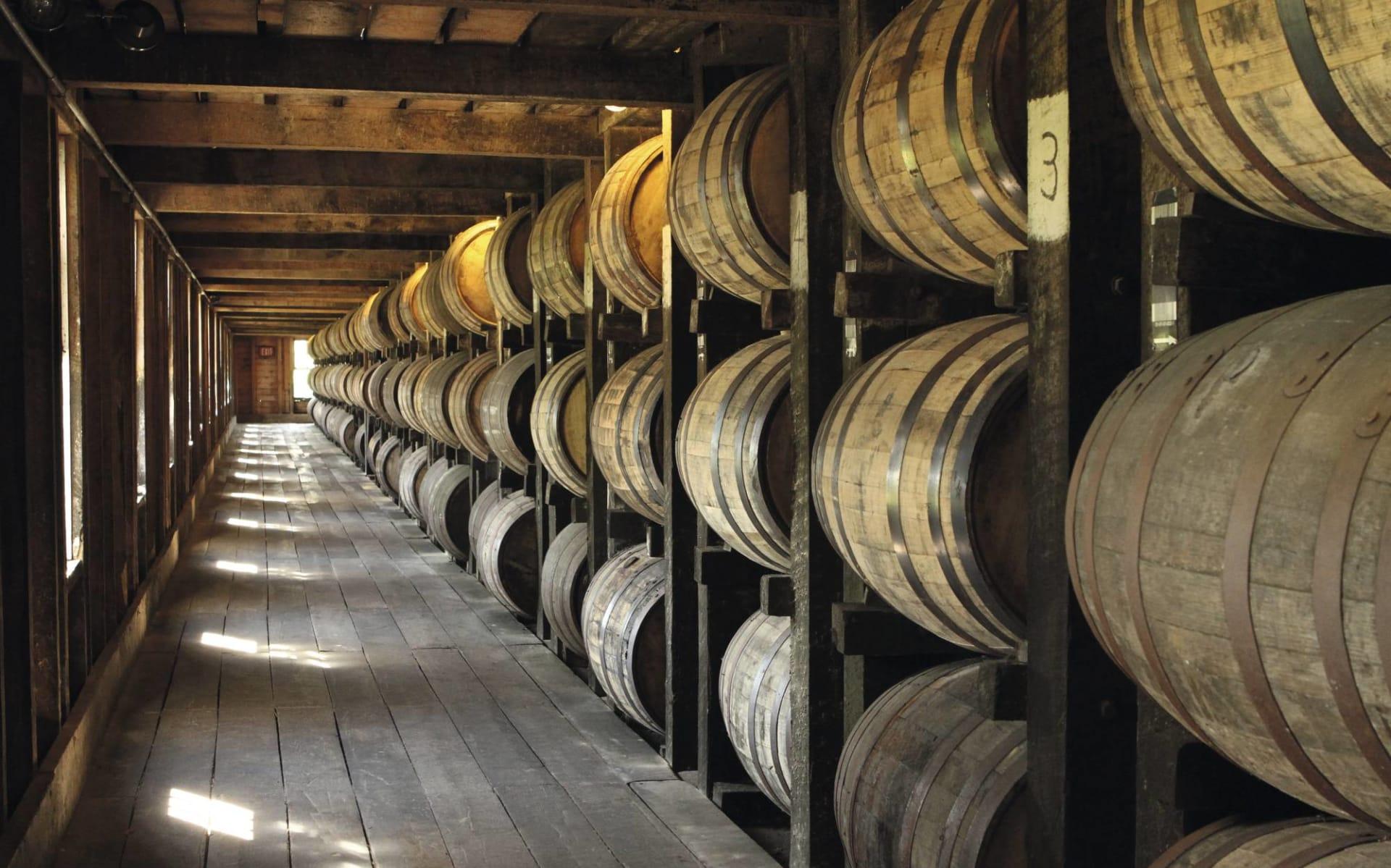 Music and Bourbon ab Nashville: Whiskey Barrels