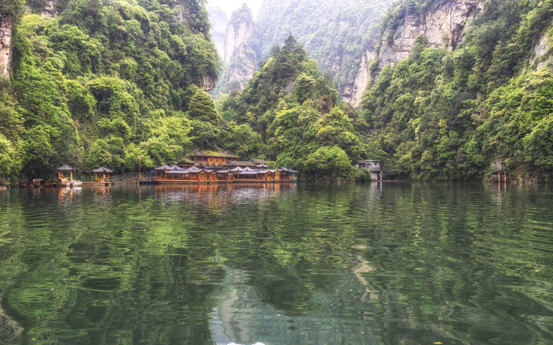 Märchenhaftes Südchina ab Shanghai: Zhangjiajie Baofeng Lake at Wulingyuan scenic area