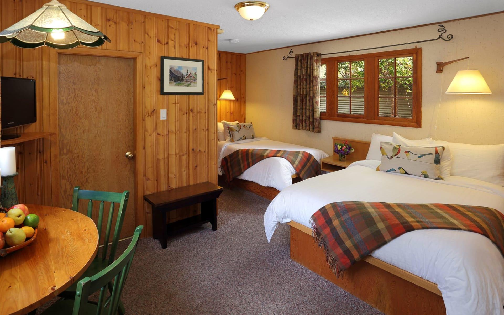 Bear Hill Lodge in Jasper: zimmer_Bear Hill Lodge_ForestCottage