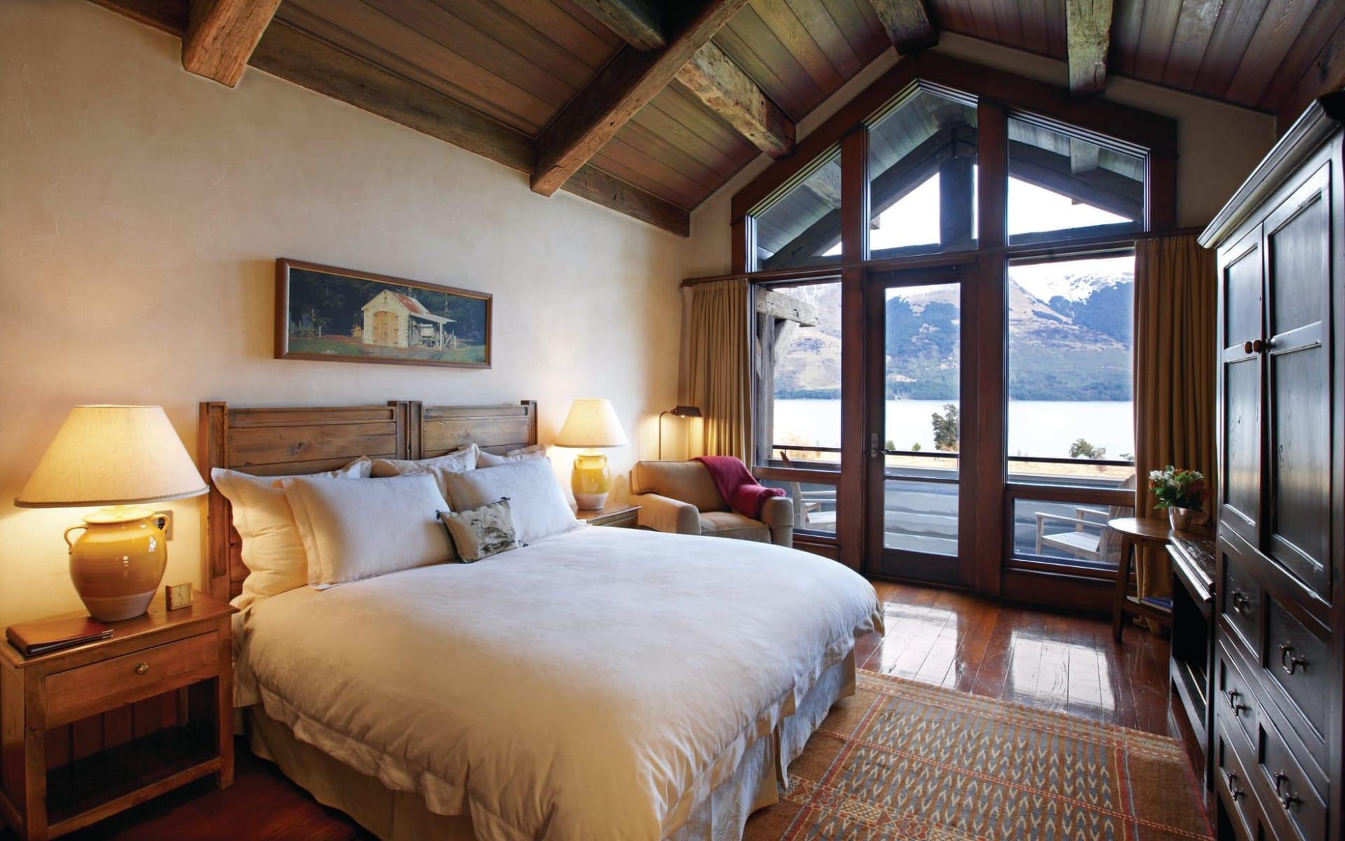 Blanket Bay in Glenorchy: Zimmer Blanket bay - Lodge Room cSmallluxury Lodges