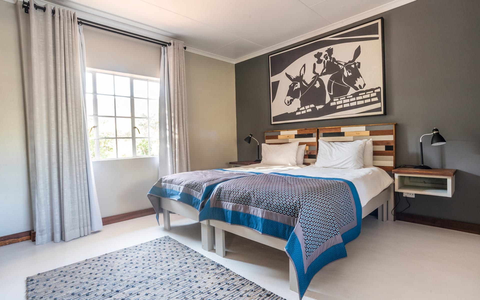 Damara Mopane Lodge in Khorixas Region: zimmer Damara Mopane Lodge - zimmer mit Bett
