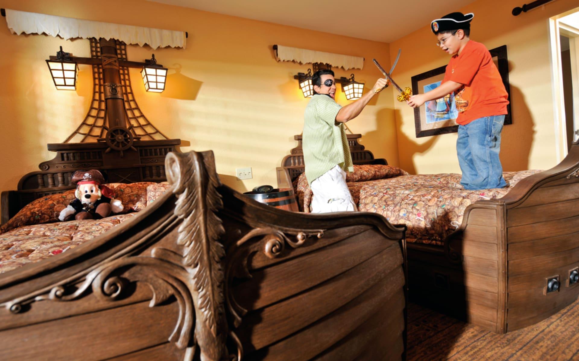 Disney's Caribbean Beach Resort in Lake Buena Vista: zimmer disneys caribbean beach resort doppelzimmer
