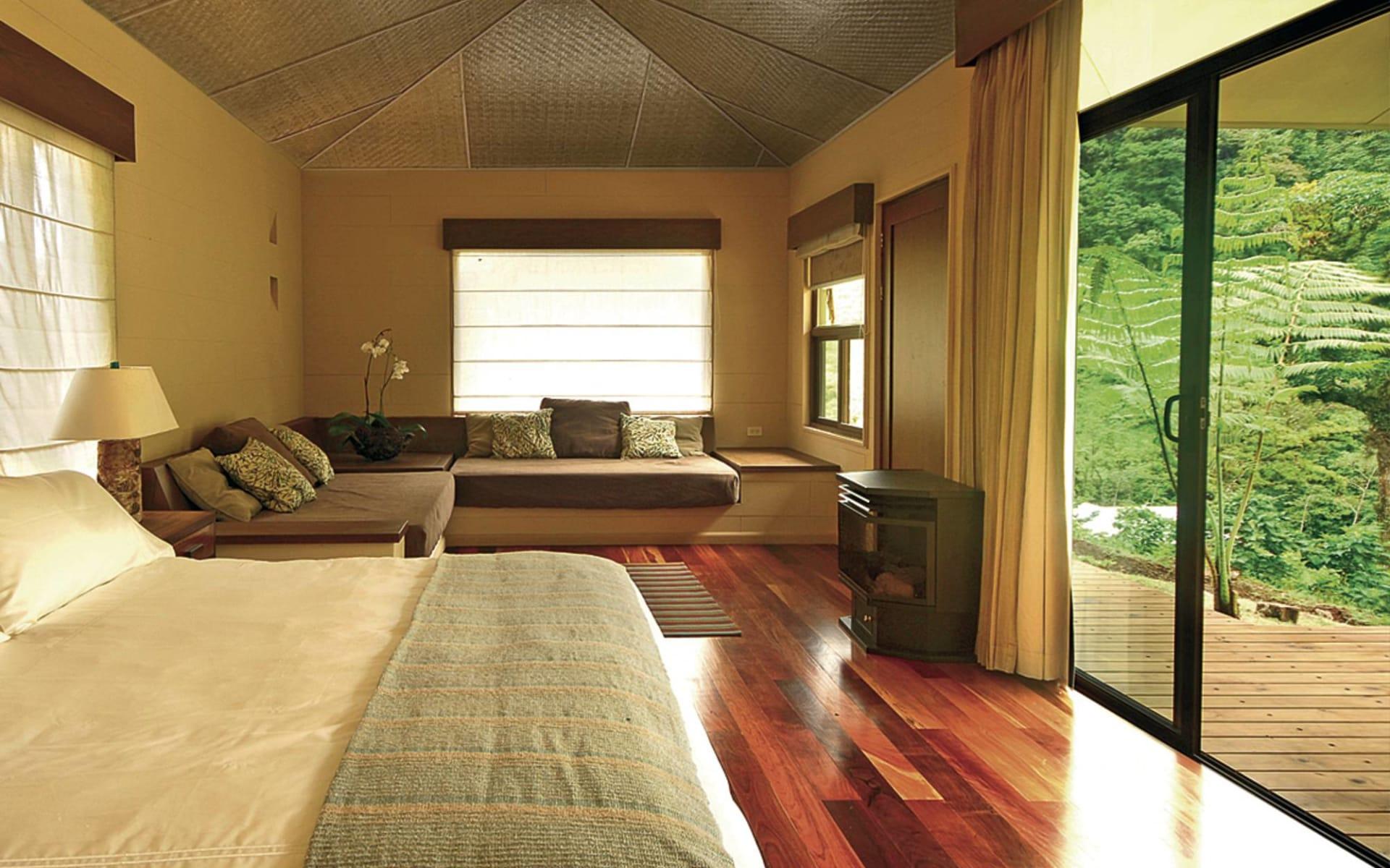 El Silencio Lodge & Spa in Bajos del Toro: zimmer el silencio lodge doppezimmer