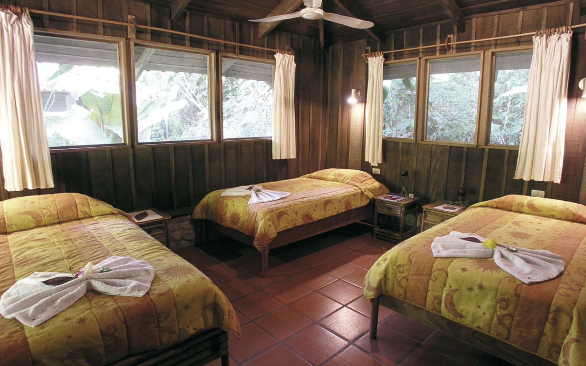 Esquinas Rainforest Lodge in Golfito: zimmer esquinas rainforest lodge viererzimmer