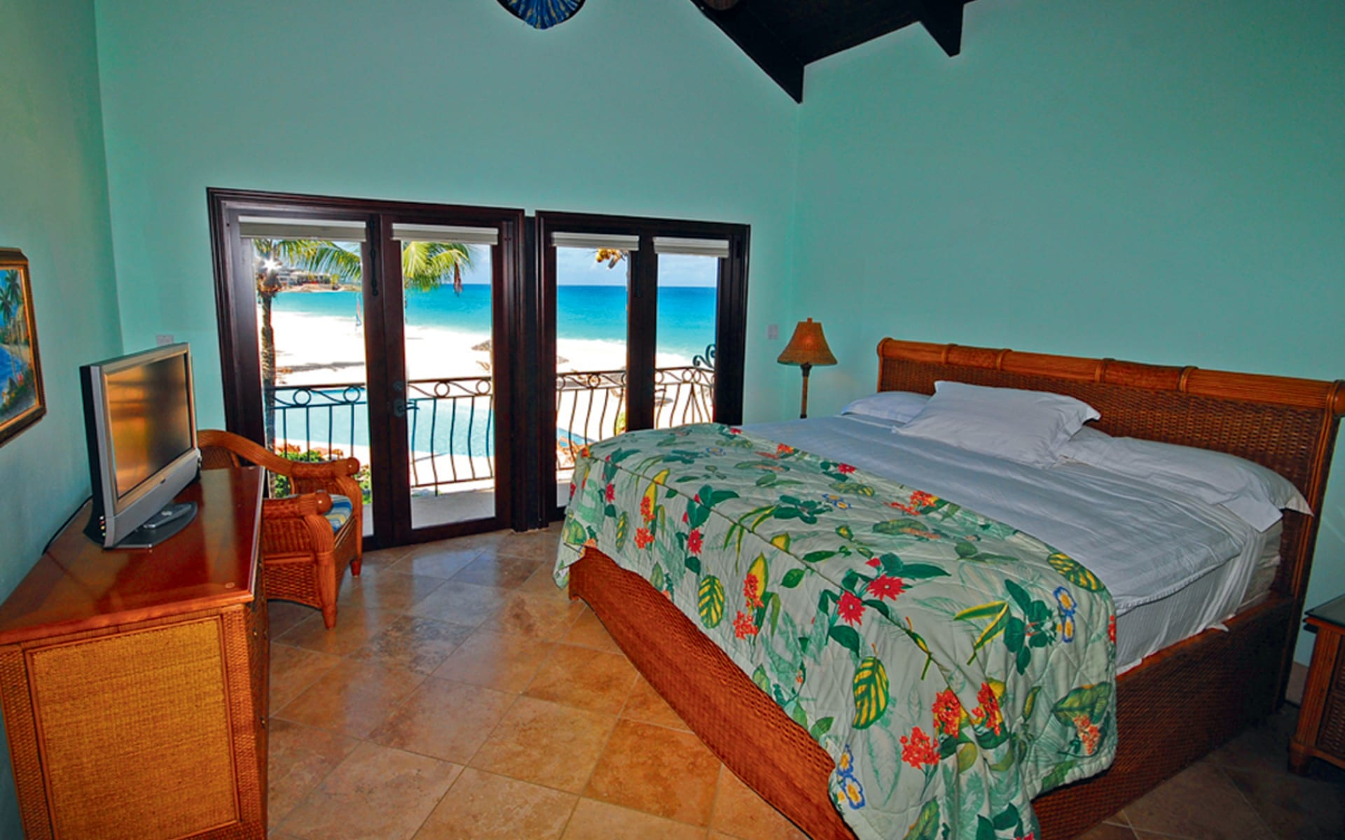 Frangipani Beach Resort in Meads Bay: zimmer frangipani beach resort doppelzimmer