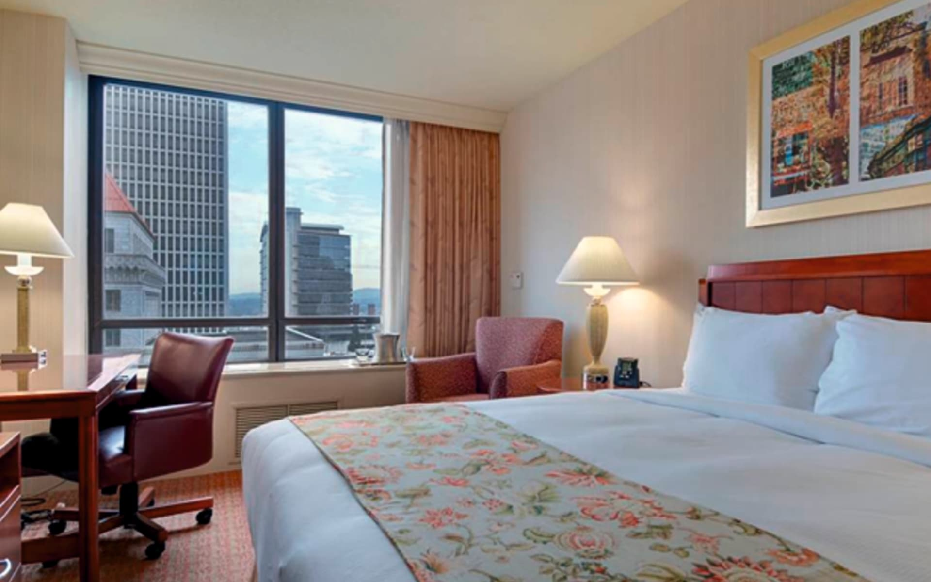 Hilton Portland & Executive Tower: zimmer hilton portland and executive tower doppelzimmer