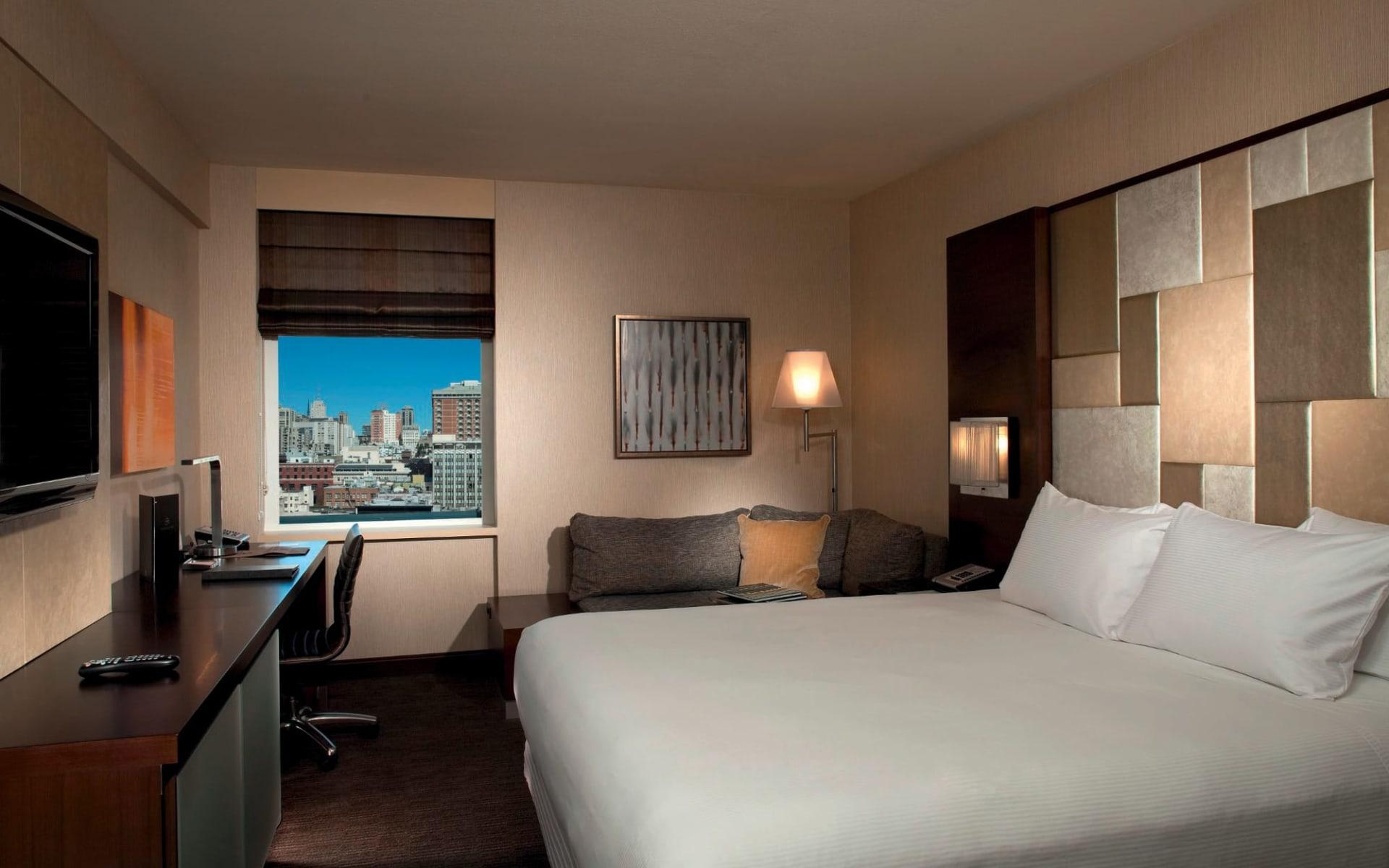 Hilton San Francisco Union Square: zimmer hilton san francisco union square doppelzimmer