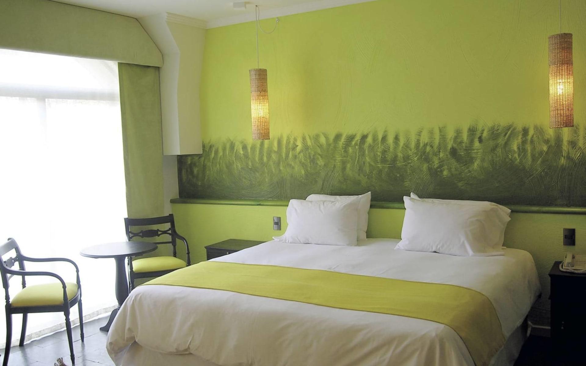 Hotel Fundador in Santiago de Chile: Zimmer Hotel Fundador Queenbed