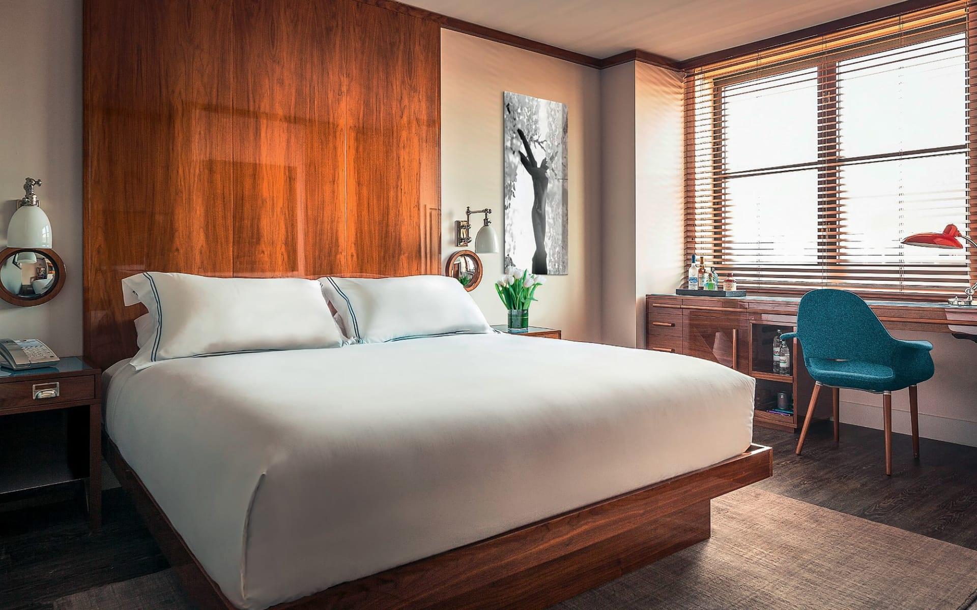 Hotel Hugo Soho in New York - Manhattan: zimmer hotel hugo soho doppelzimmer
