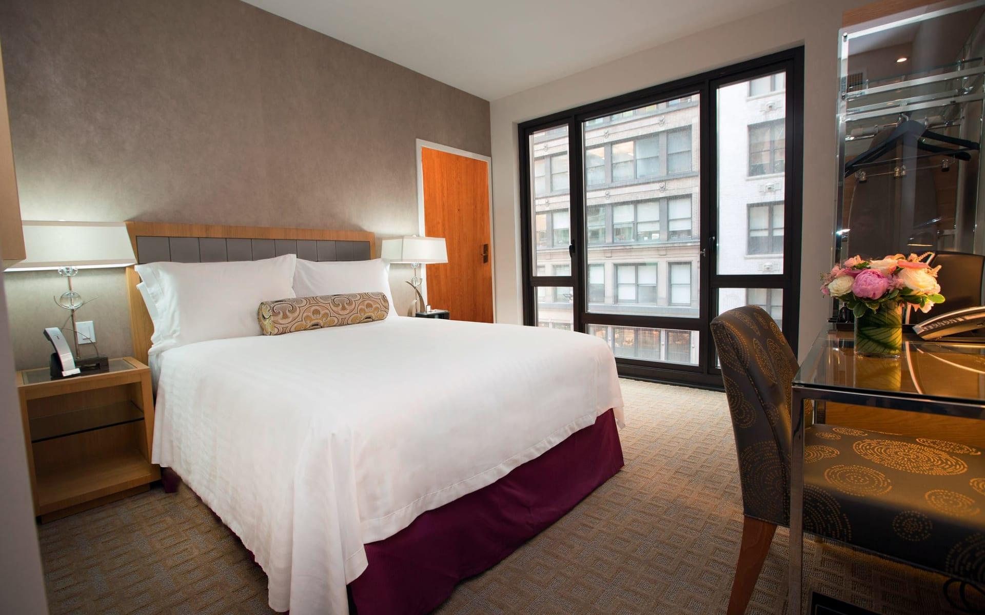 Le Soleil Hotel & Suites in New York - Manhattan: zimmer le soleil hotel and suites city doppelzimmer