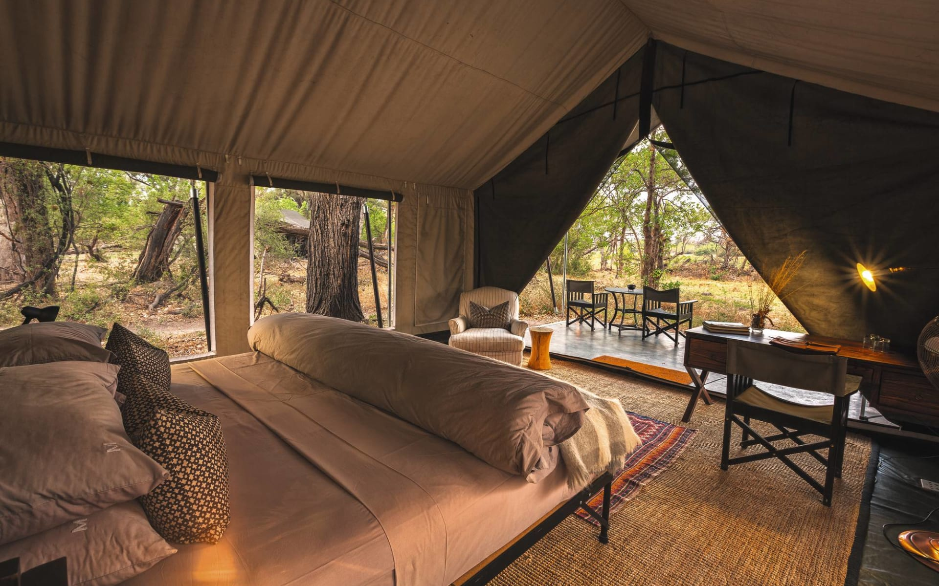Machaba Camp & Little Machaba Camp in Okavango Delta: Zimmer Machaba Camp Standard
