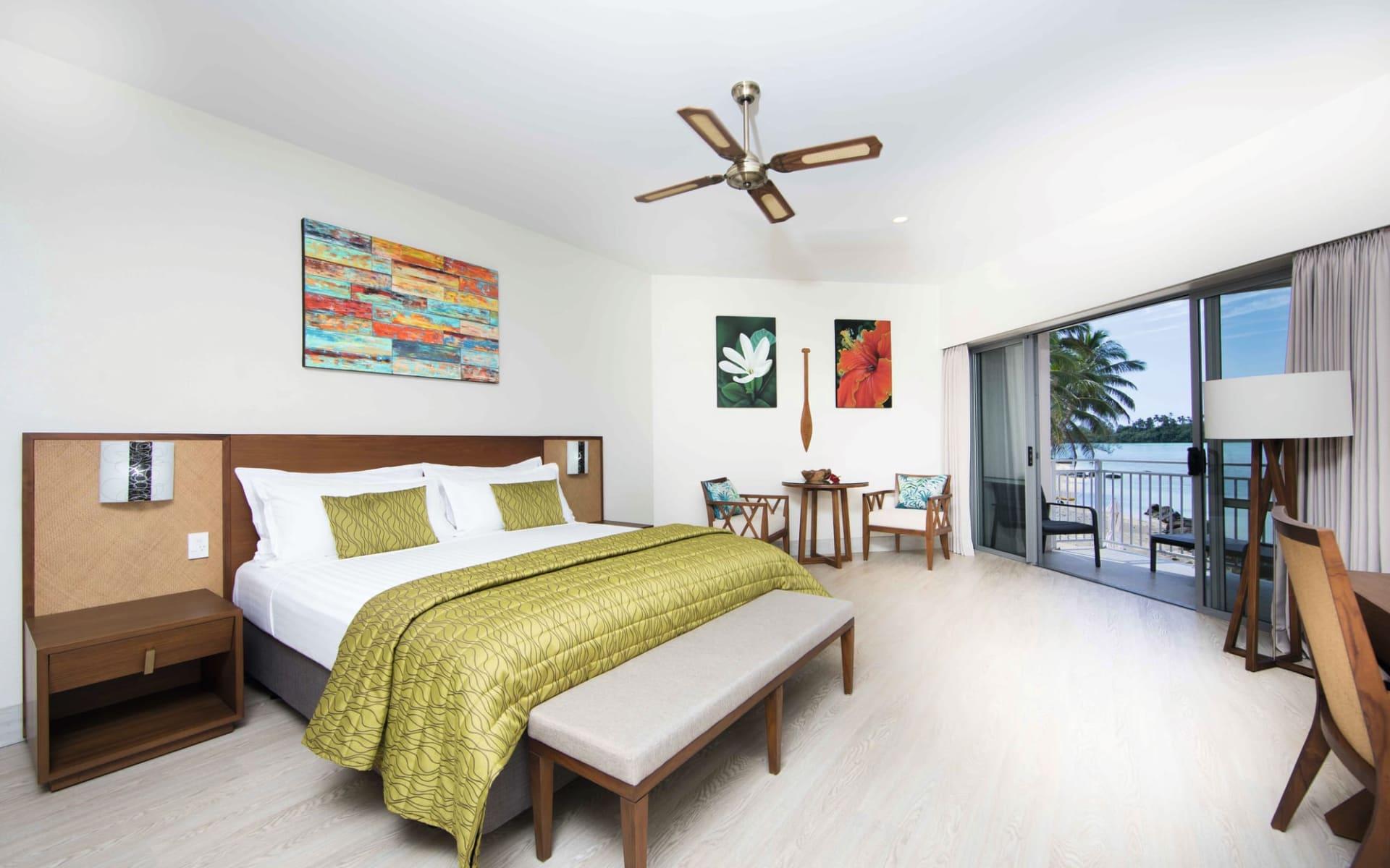 Moana Sands Lagoon Resort in Rarotonga: Zimmer Moana Sands Lagoon Resort rarotonga - Deluxe Lagoon Studio cTurama