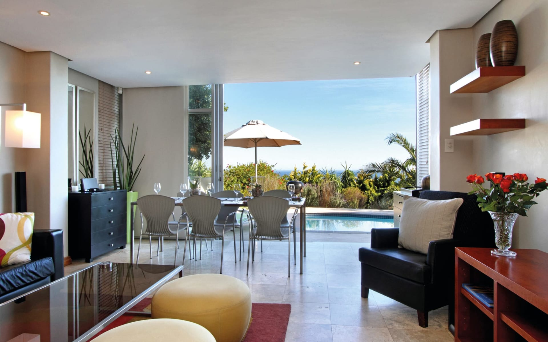 NOX Rentals in Kapstadt: zimmer Nox Rentals - Panorama 1 Bedroom Camps Bay