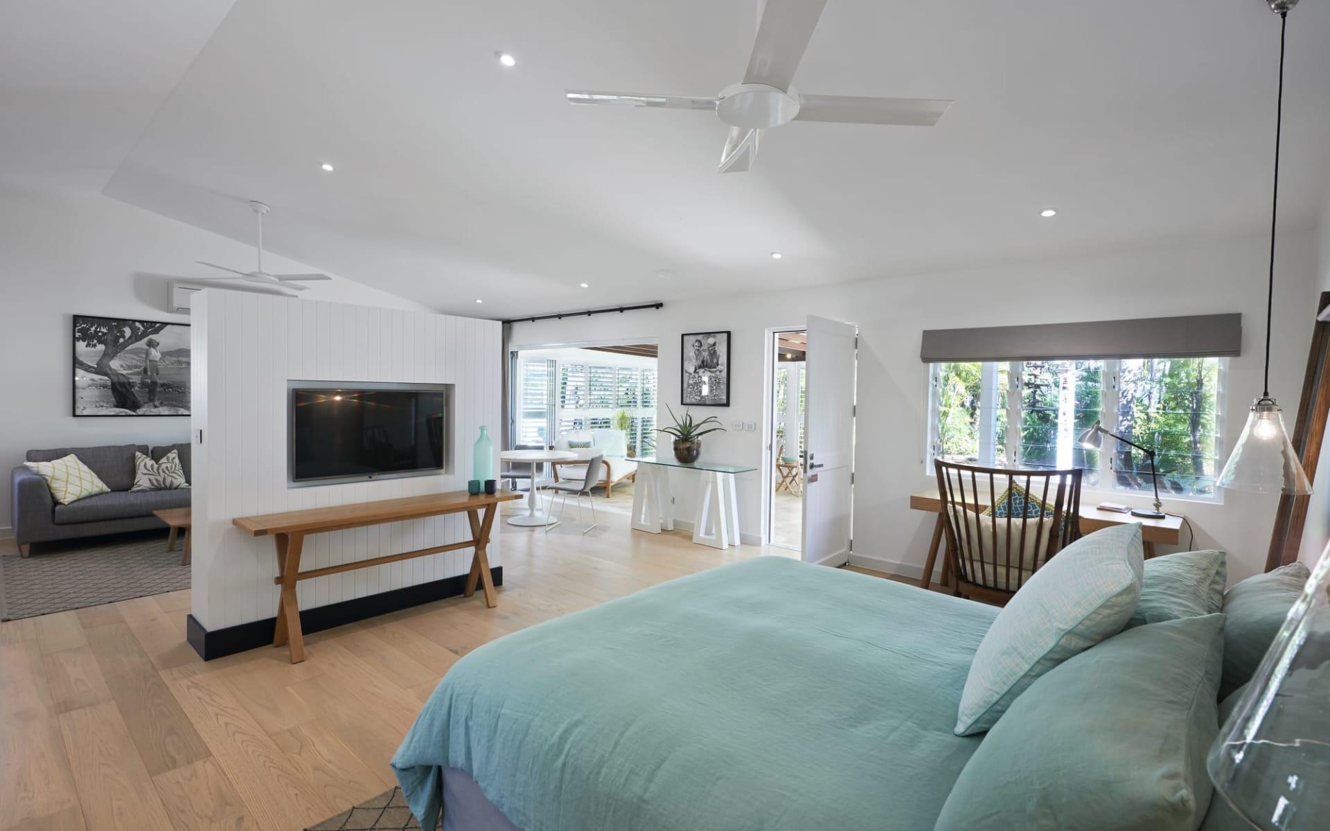 Orpheus Island: Zimmer Orpheus Island Resort Queensland Australien  South Suite Bedroom 01 2017