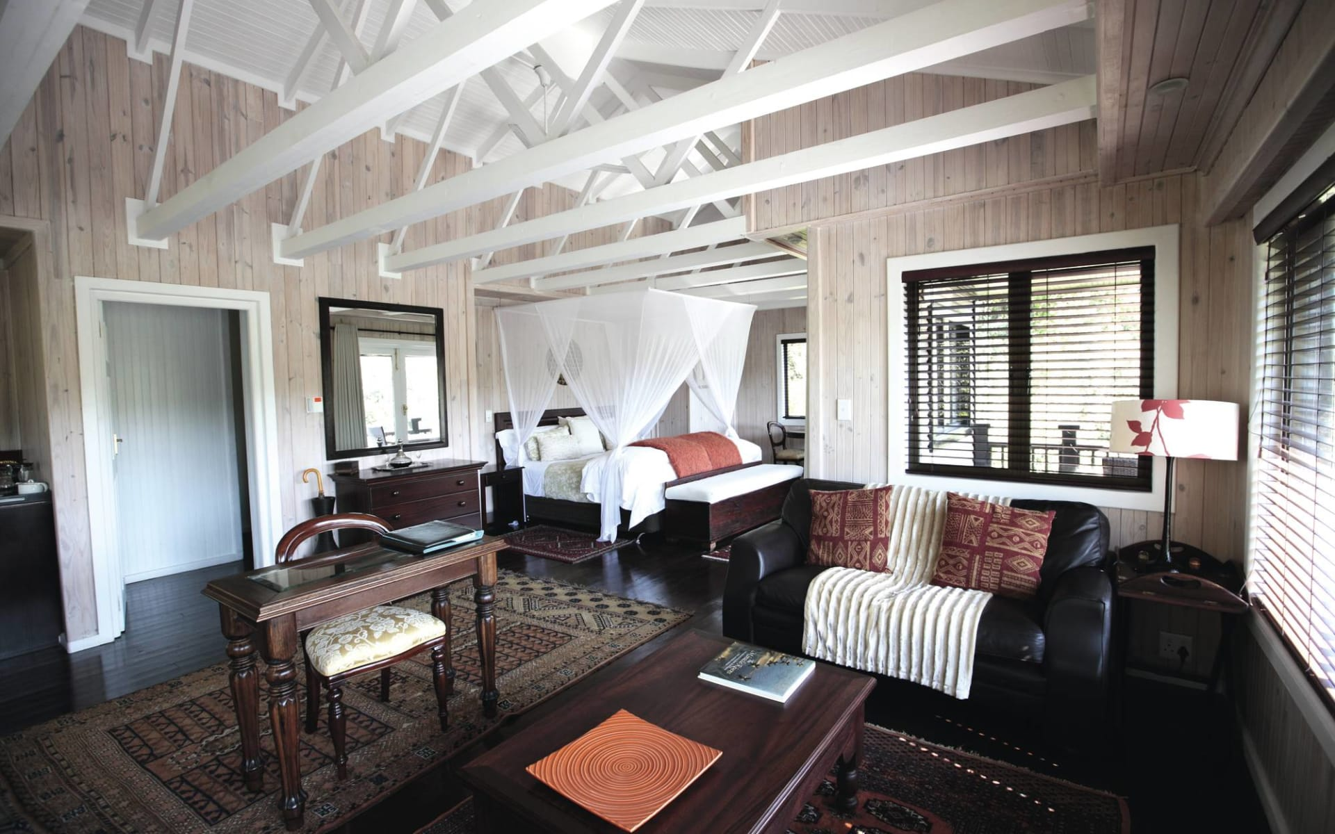 Prana Lodge in Chintsa Bay: zimmer Prana Lodge Queenbed