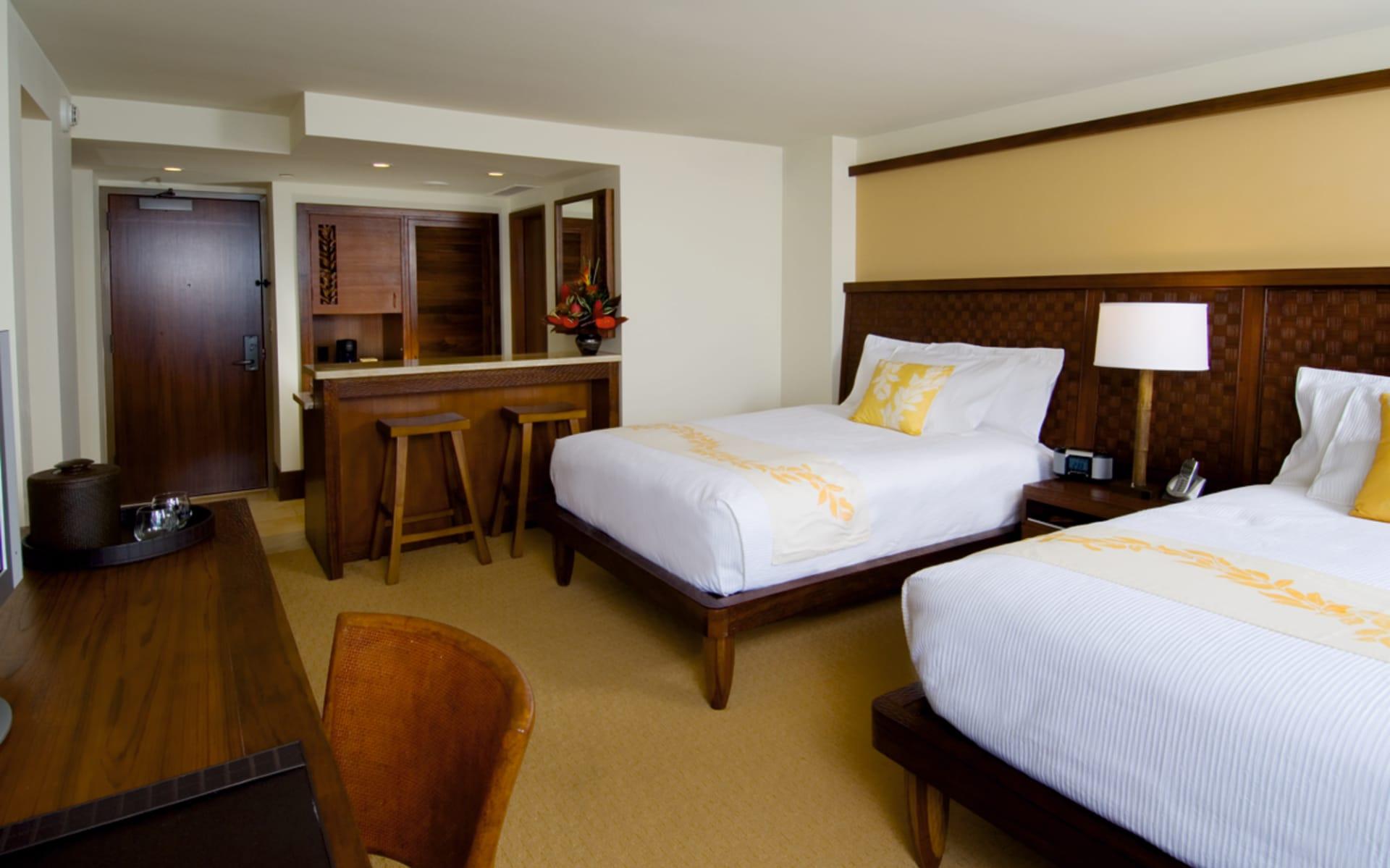 Royal Lahaina Resort in Lahaina - Maui: zimmer royal lahaina resort twinbed zimmer