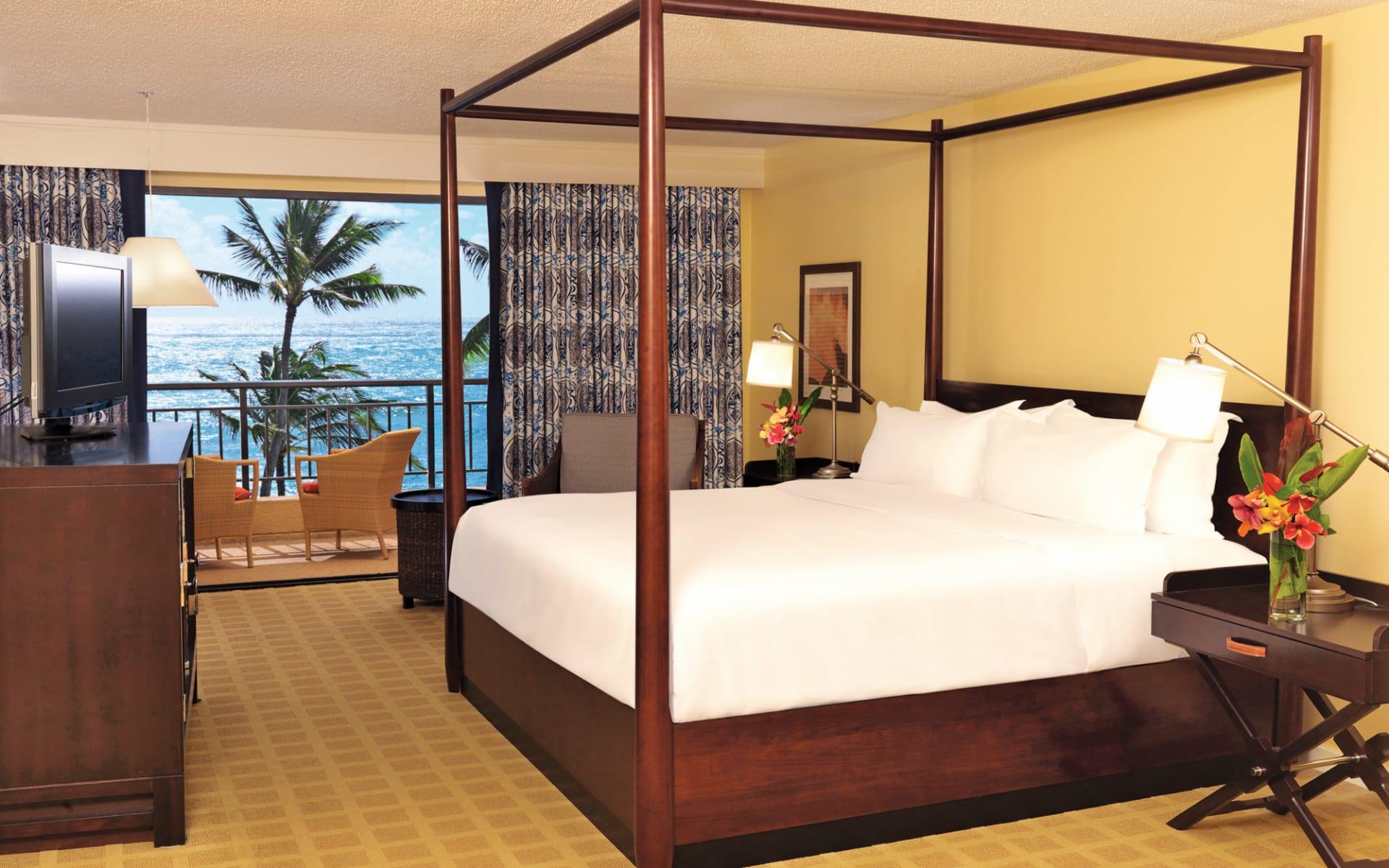 Sheraton Kauai Resort in Poipu - Kauai: zimmer sheraton kauia resort doppelzimmer meersicht