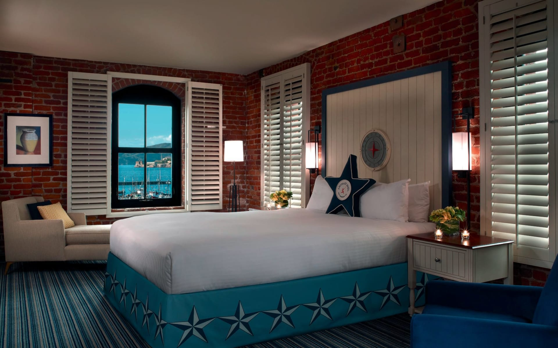 The Argonaut Hotel in San Francisco: zimmer the argonaut hotel doppelzimmer