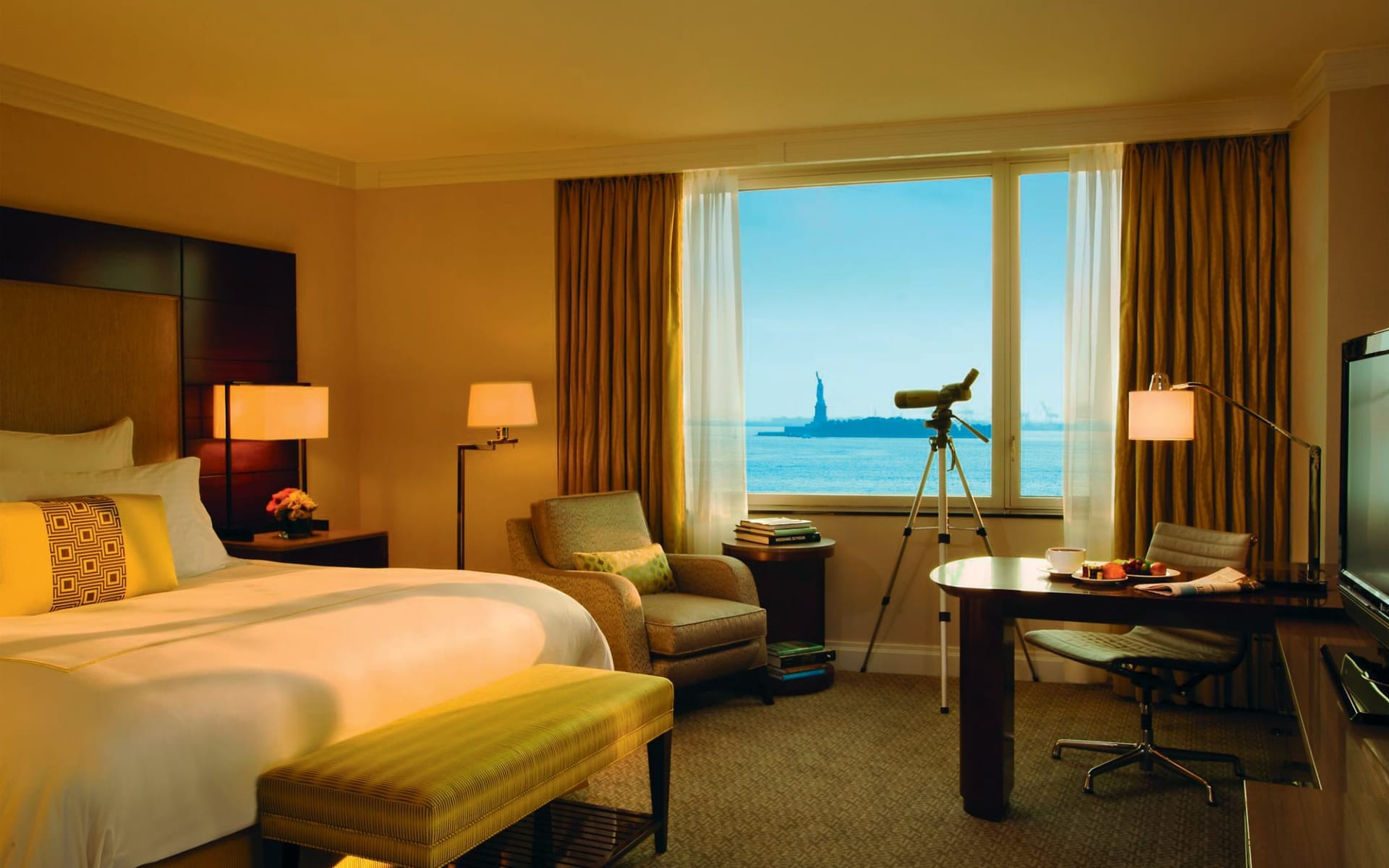The Wagner at the Battery in New York - Manhattan: zimmer the ritz carlton doppelzimmer meerblick
