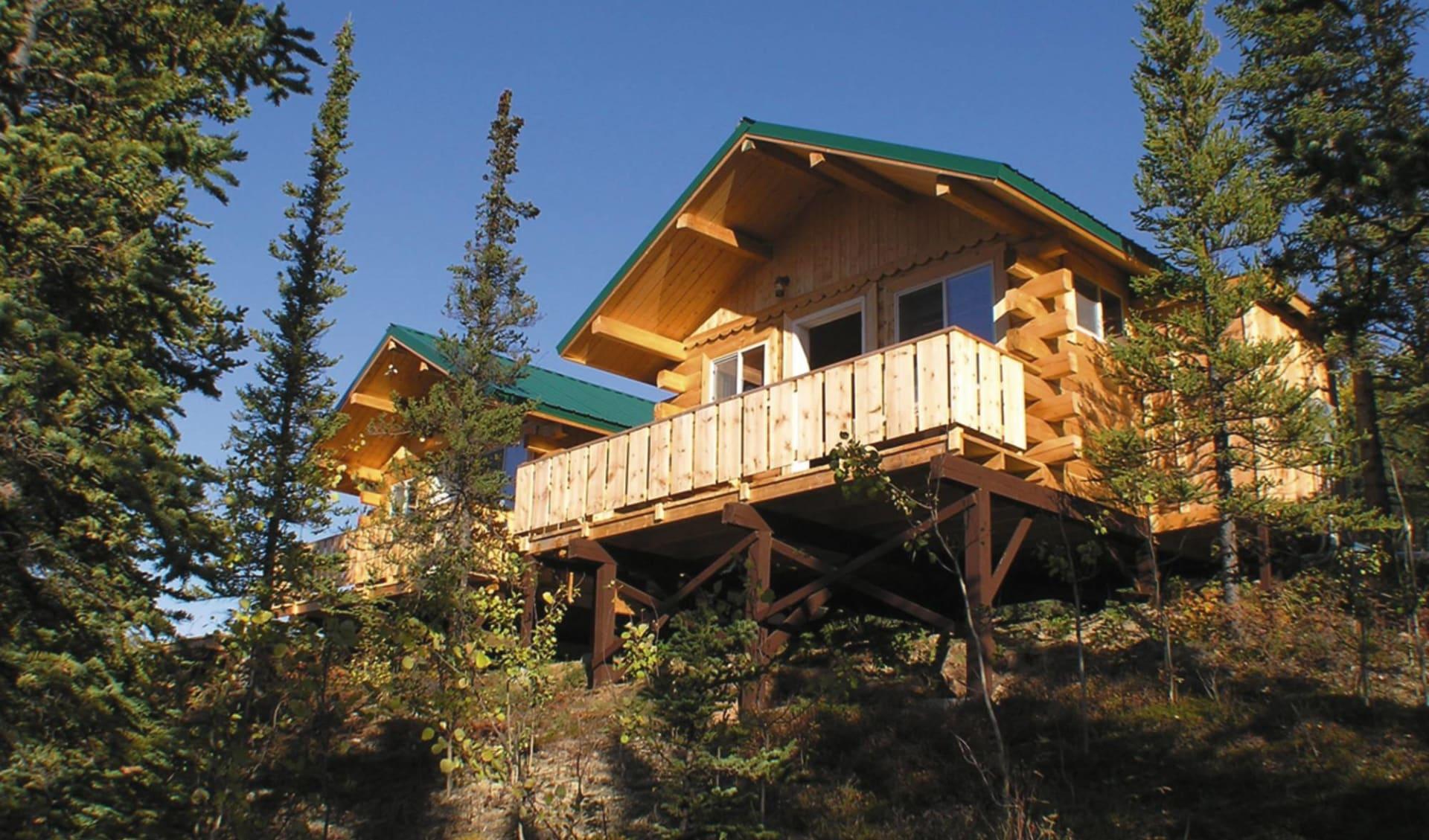 Denali Grizzly Bear Resort in Denali National Park: _ exterior Denali Grizzly Bear Resort - Aussenansicht Cabins