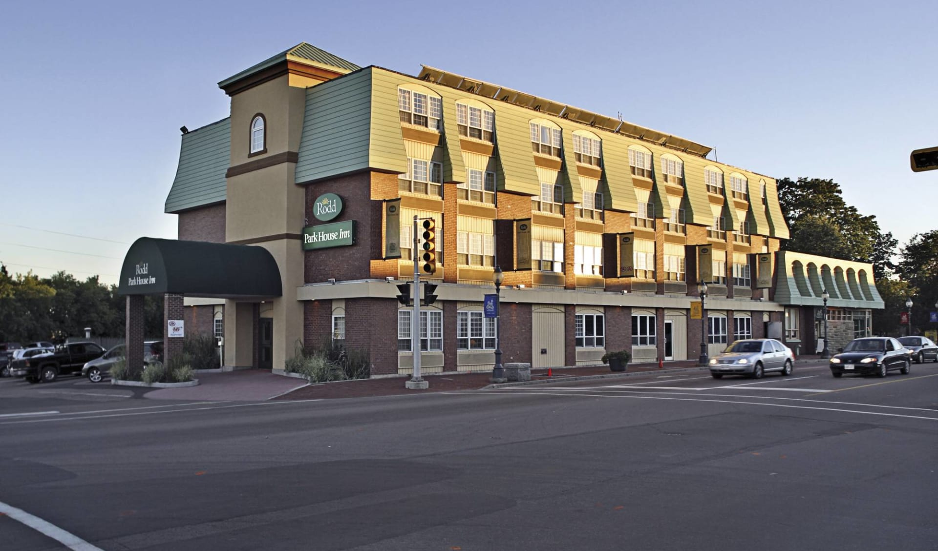 Rodd Moncton: _ exterior Rodd Moncton Aussenansicht vom Hotel