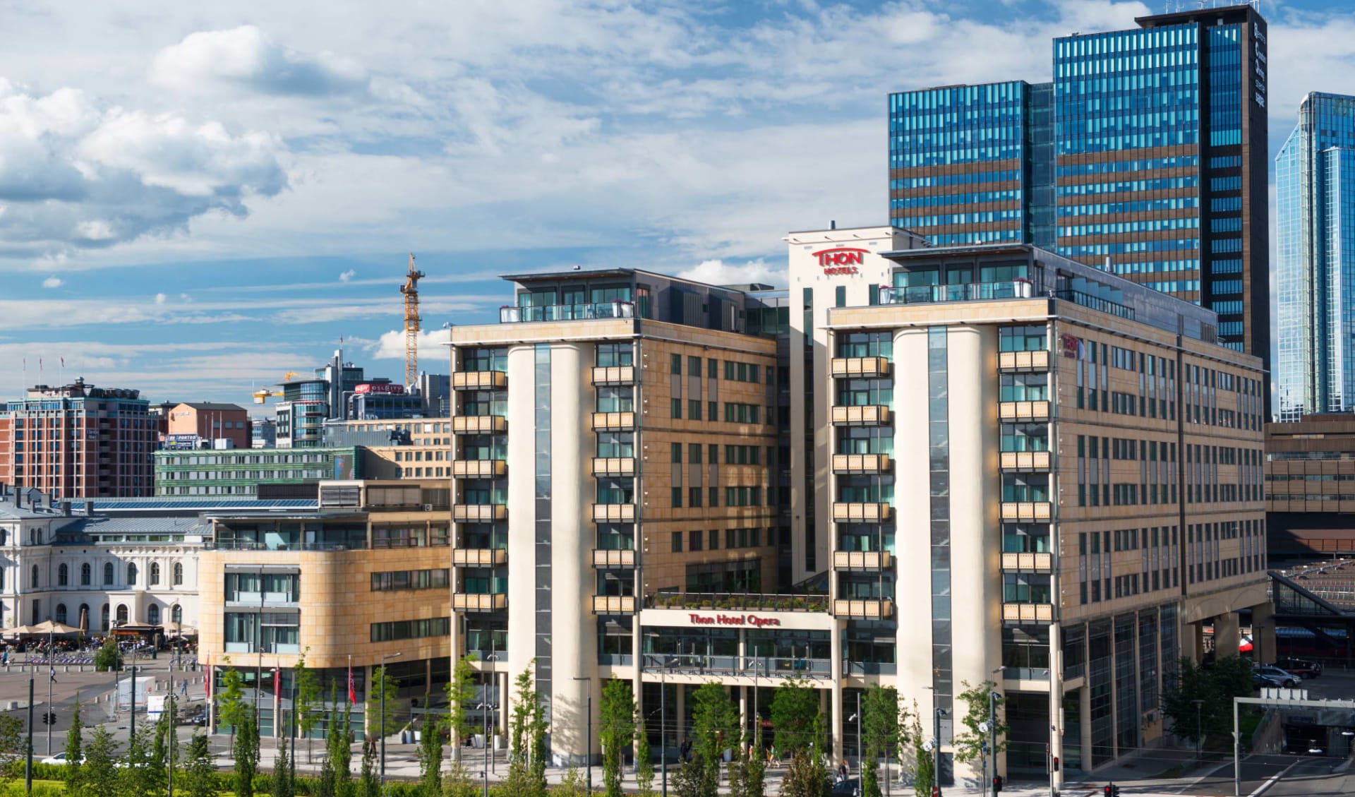 Thon Opera in Oslo: ©Thon Hotels_Fasade 1