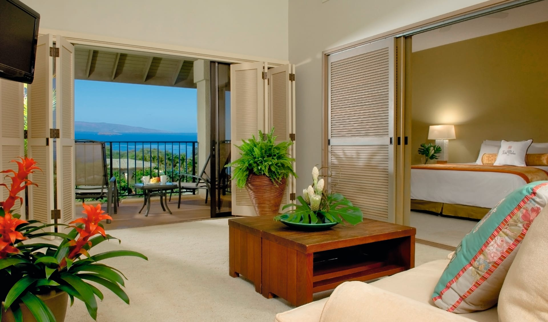 Hotel Wailea, Relais & Châteaux in Wailea - Maui: 2015_112_4_Hotel Wailea Zimmer