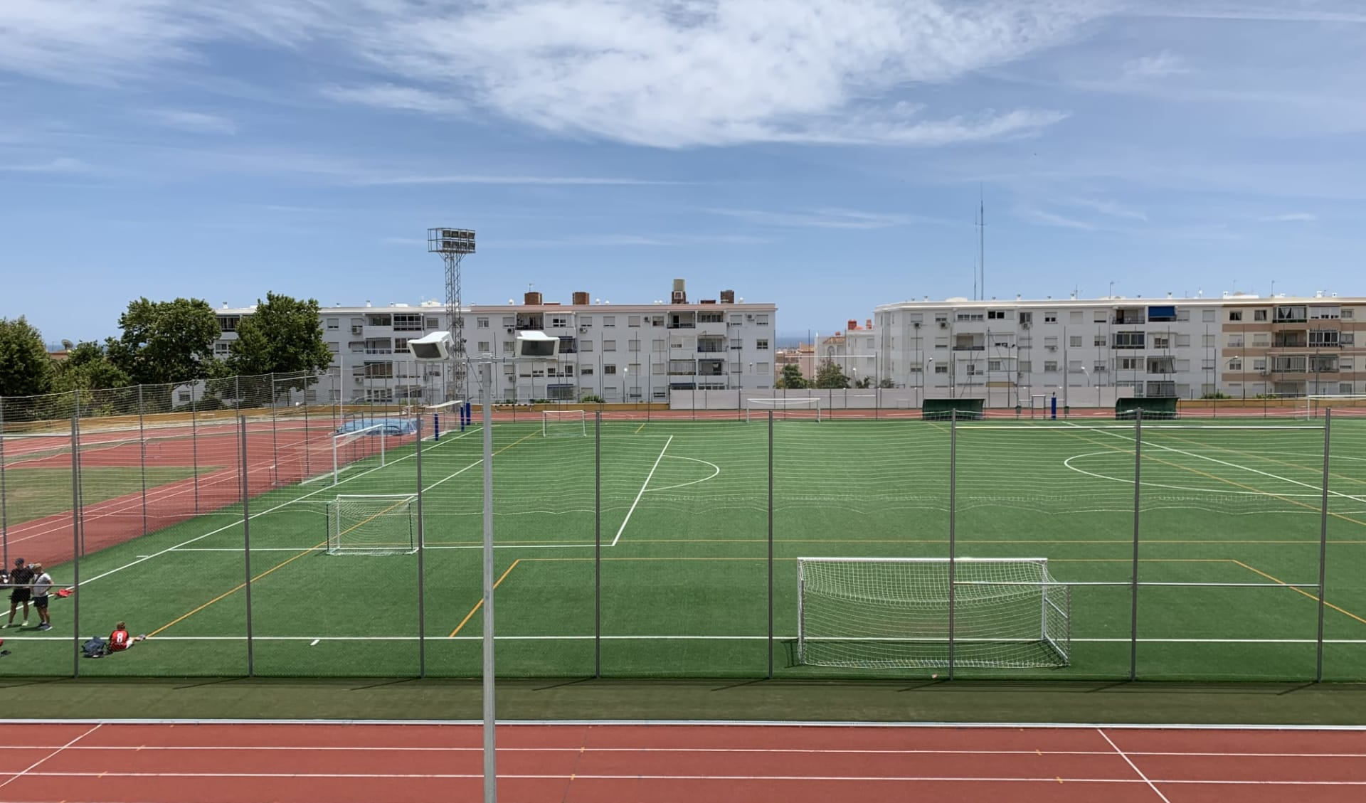 Malaga - Hotel Alay: A1 Benalmadena Kunstrasen 1