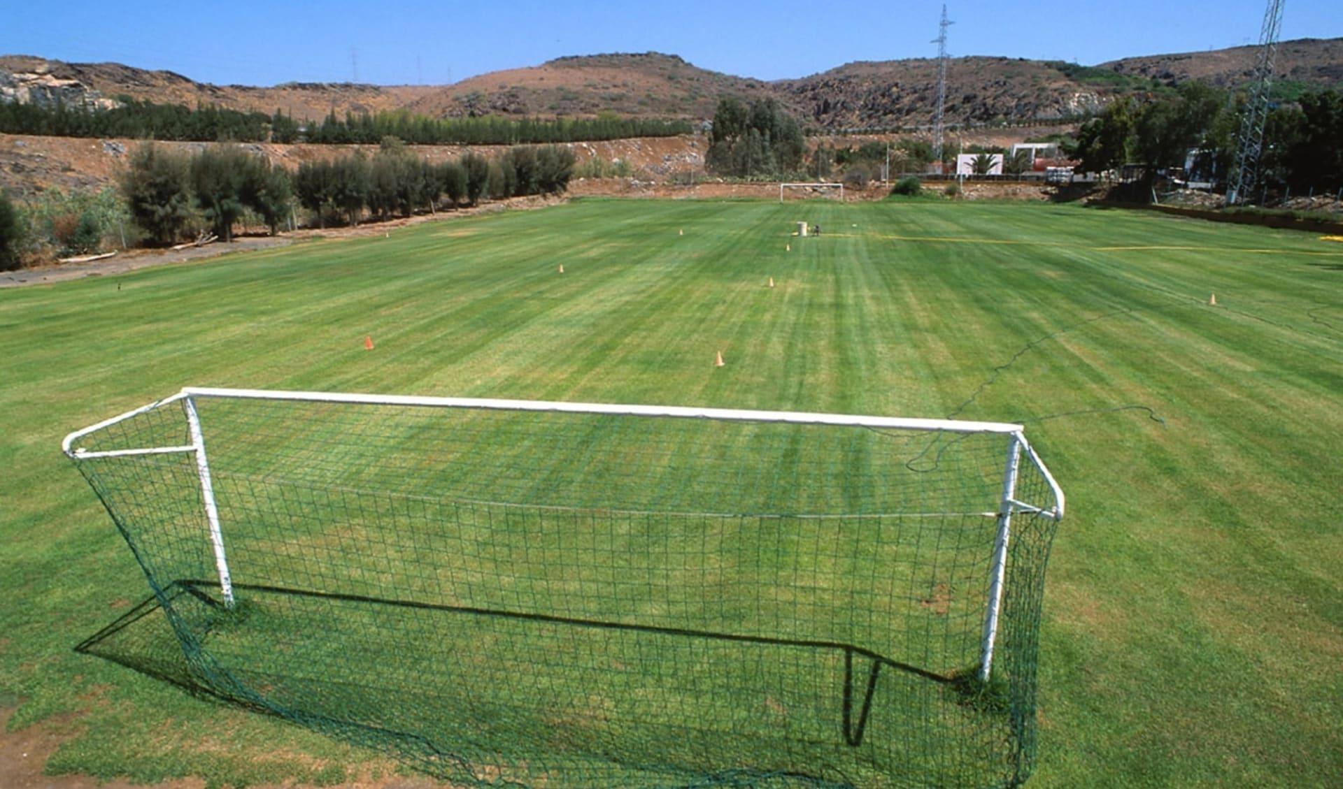 Playa del Ingles - Hotel Beverly Park ab Gran Canaria: A1_Platz mit Goal
