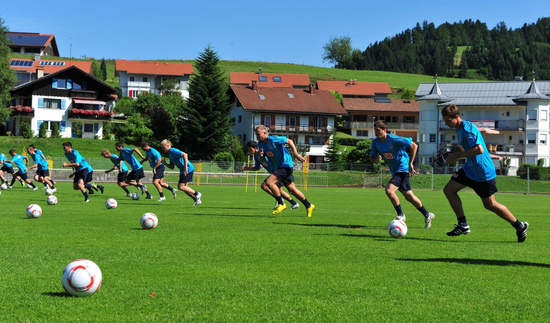 Oberstaufen - Hotel evviva!: A10_Deutschland - Oberstaufen - Trainingsplatz