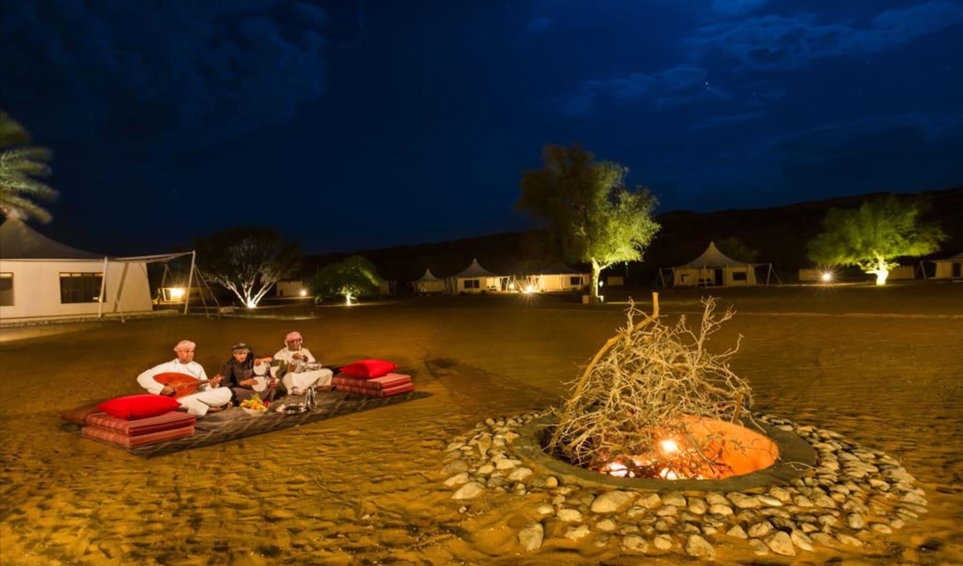 Desert Nights Camp in Wahiba Sands: