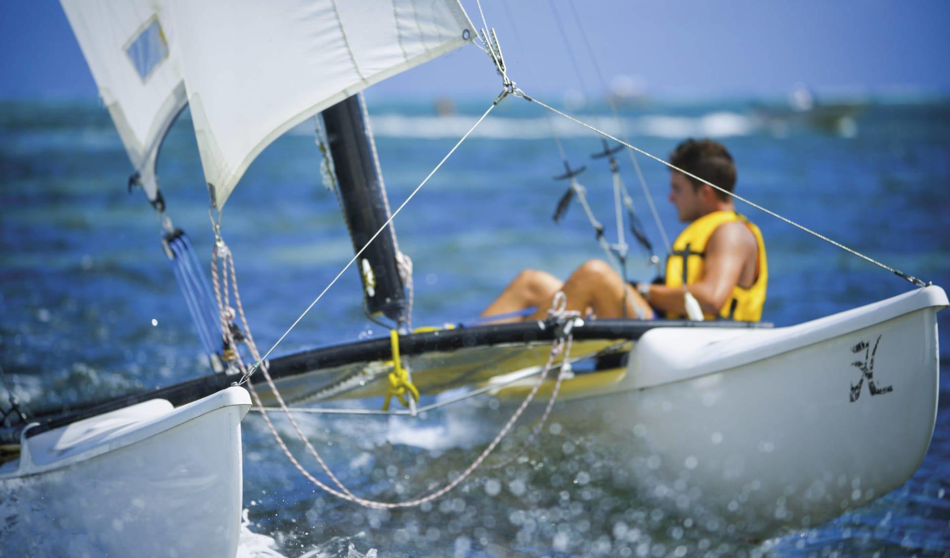 Beachcomber a la carte ab Blue Bay: sports: