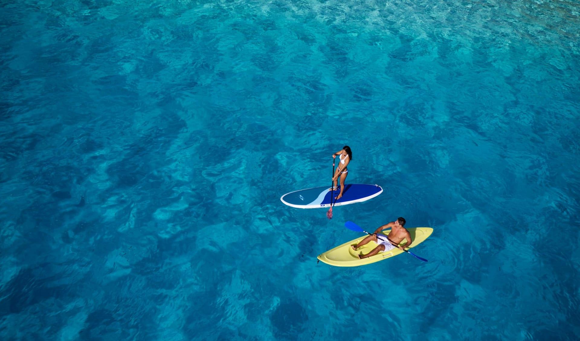 Intercontinental Le Moana Bora Bora:  BOB Intercontinental Moana Kayak, Paddle Board (1)