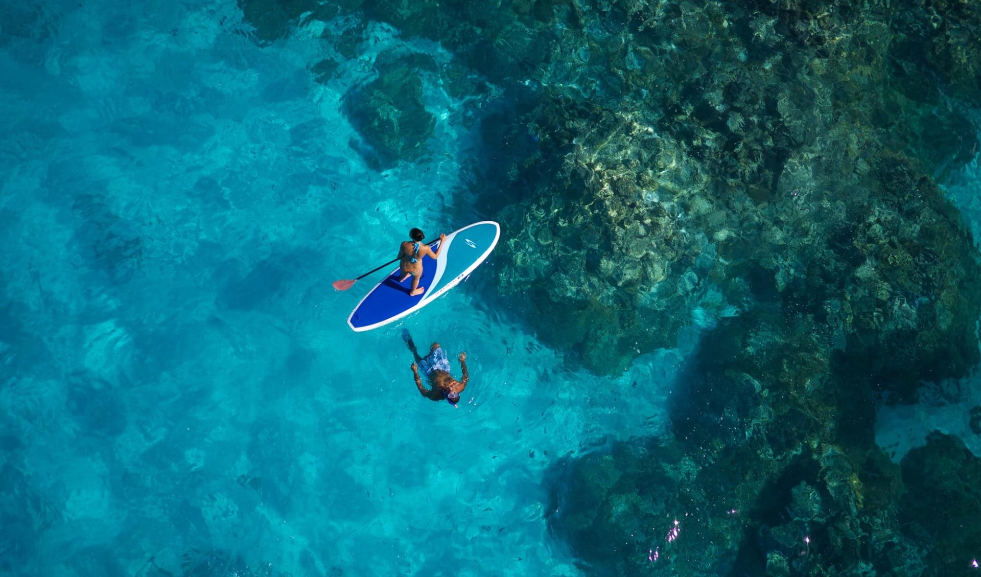 Intercontinental Le Moana Bora Bora:  BOB Intercontinental Moana Paddle Board, Snorkeling (1)
