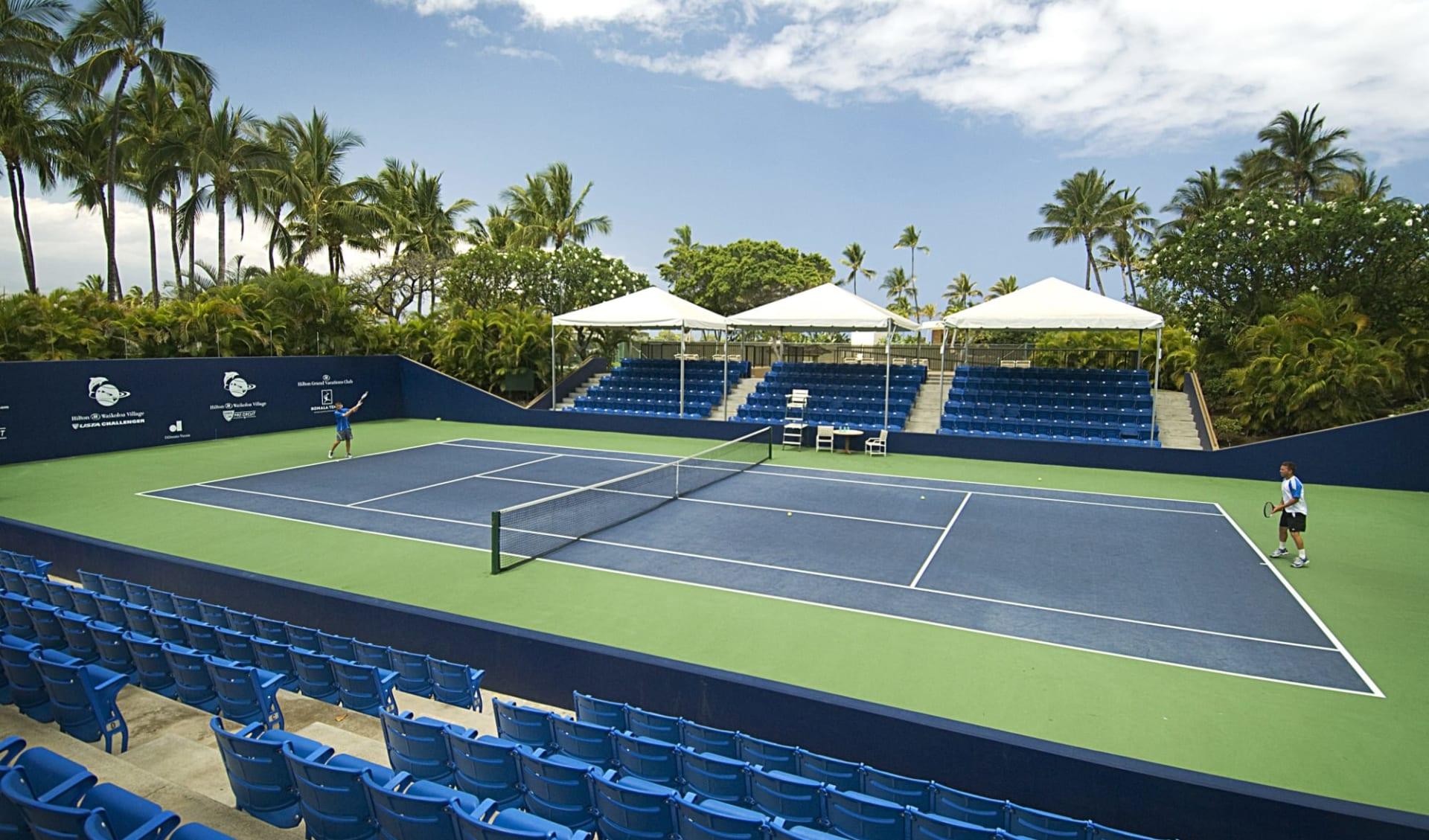 Hilton Waikoloa Village:  Hilton Waikoloa Village - Tennis - Stadium Court