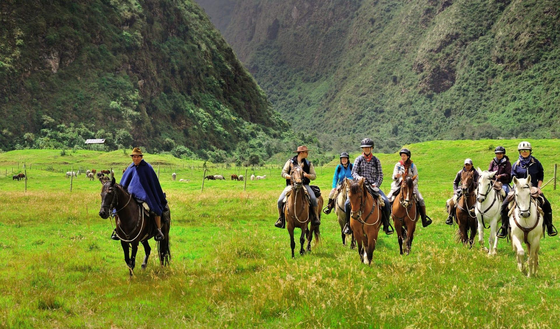 Haciendas del Ecuador ab Quito: Pferdeausritt