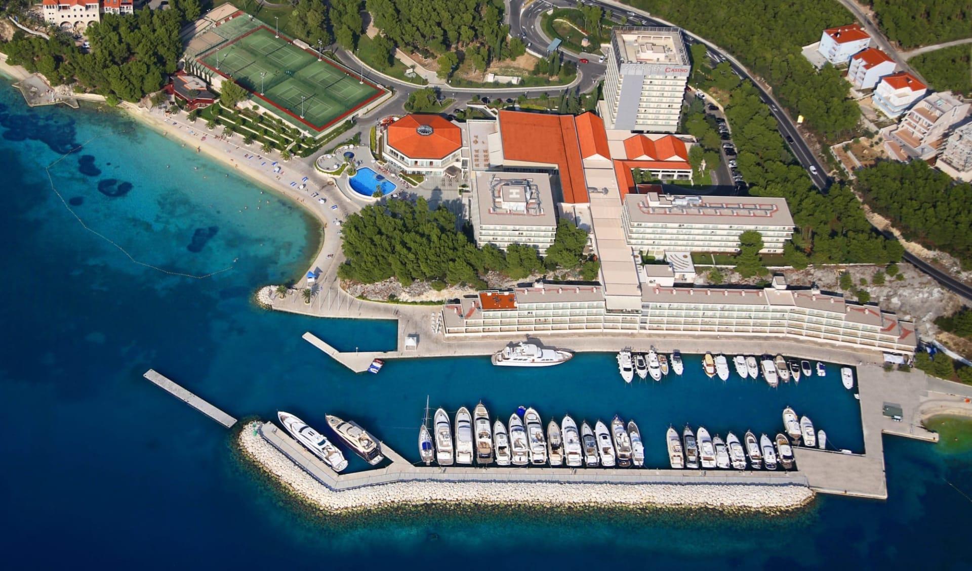 Split - Le Mèridien Lav Hotel: aerial view
