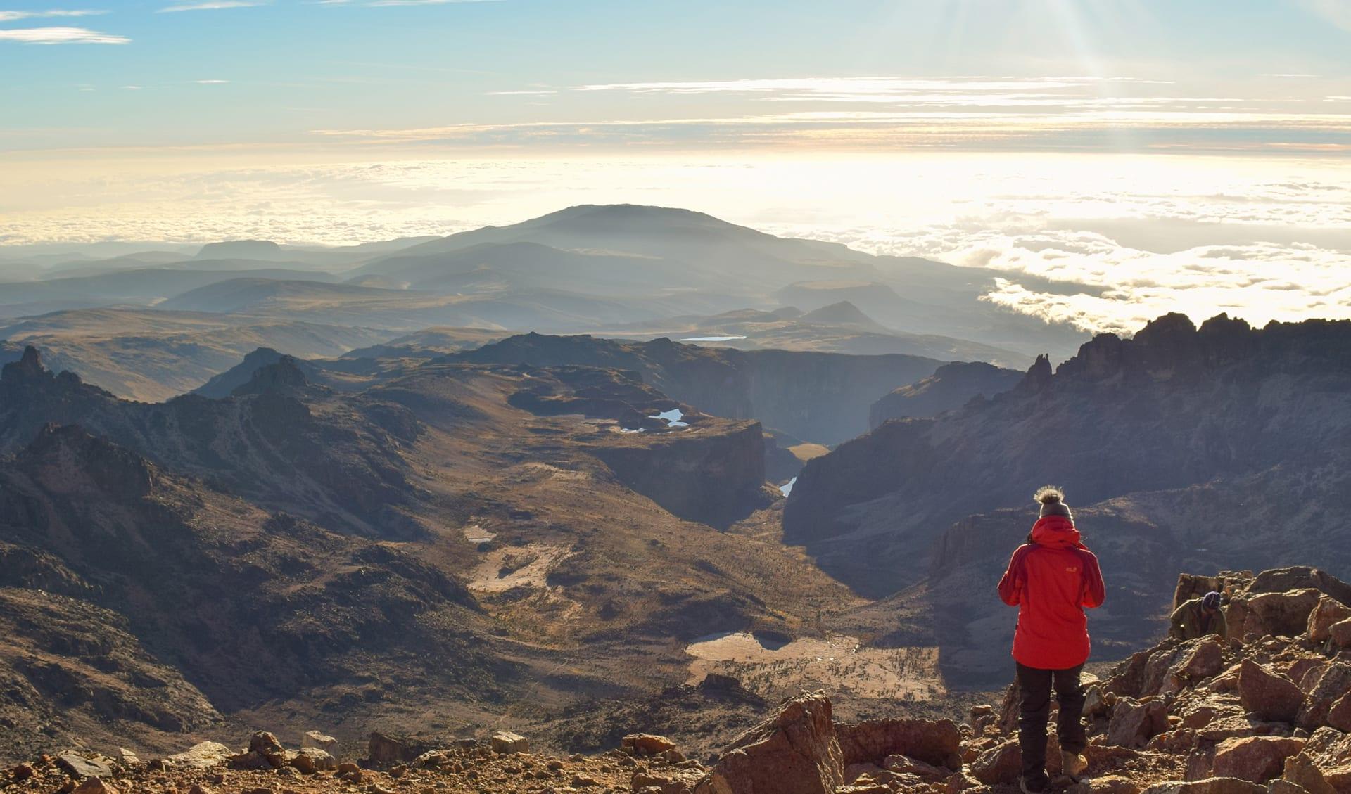 Mount Kenia, Kenia