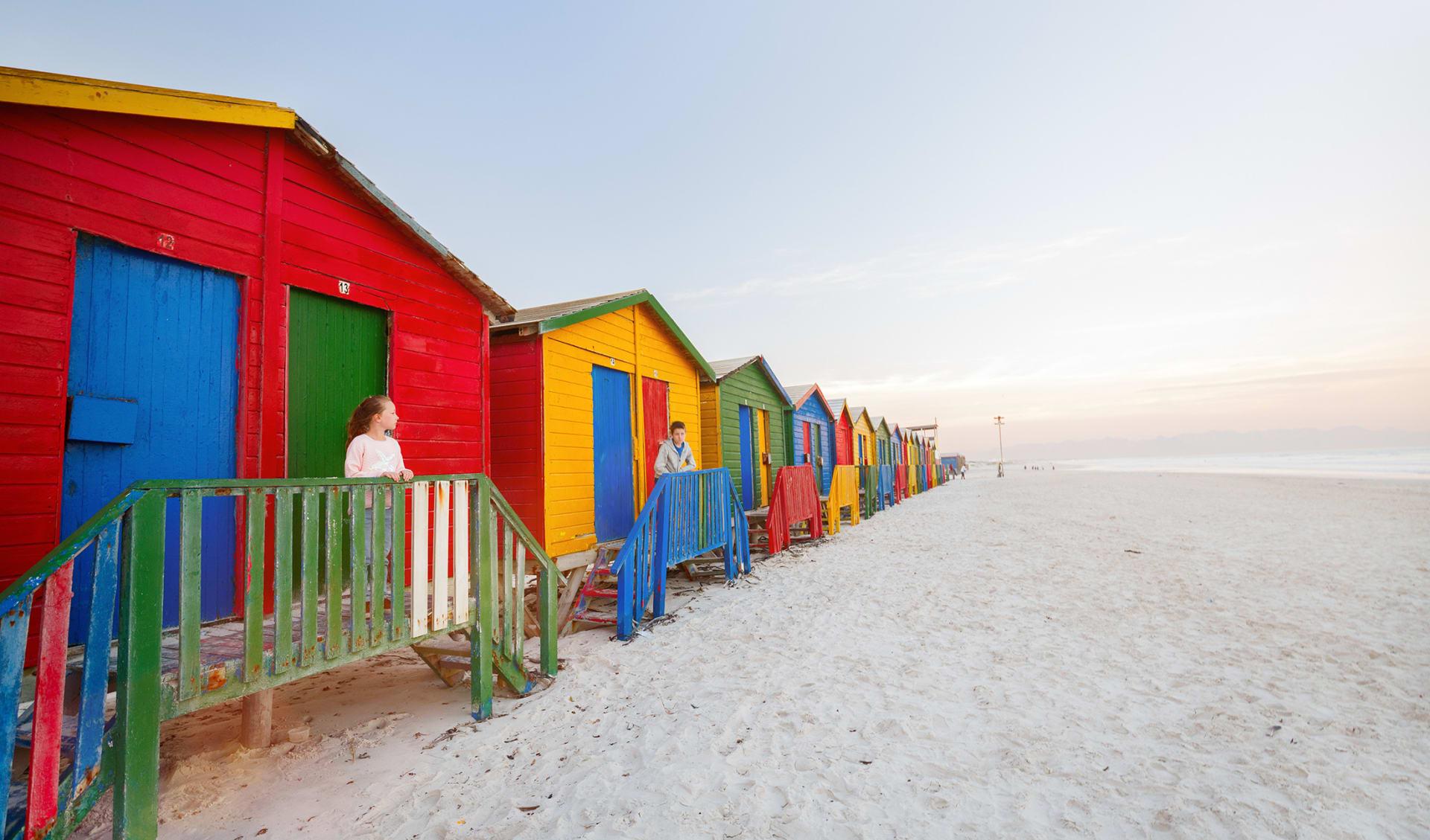 Muizenberg Cape Town, Südafrika