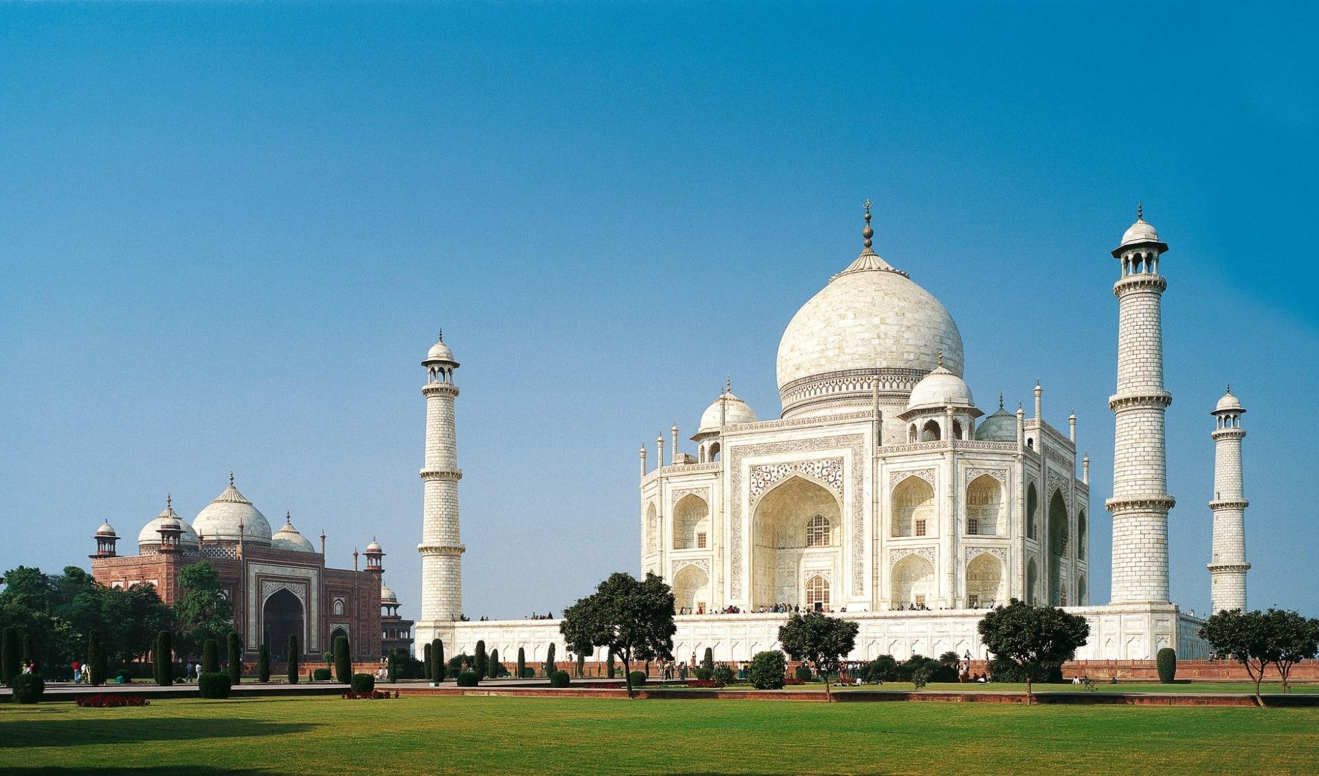 Märchenhaftes Rajasthan ab Delhi: Agra Taj Mahal